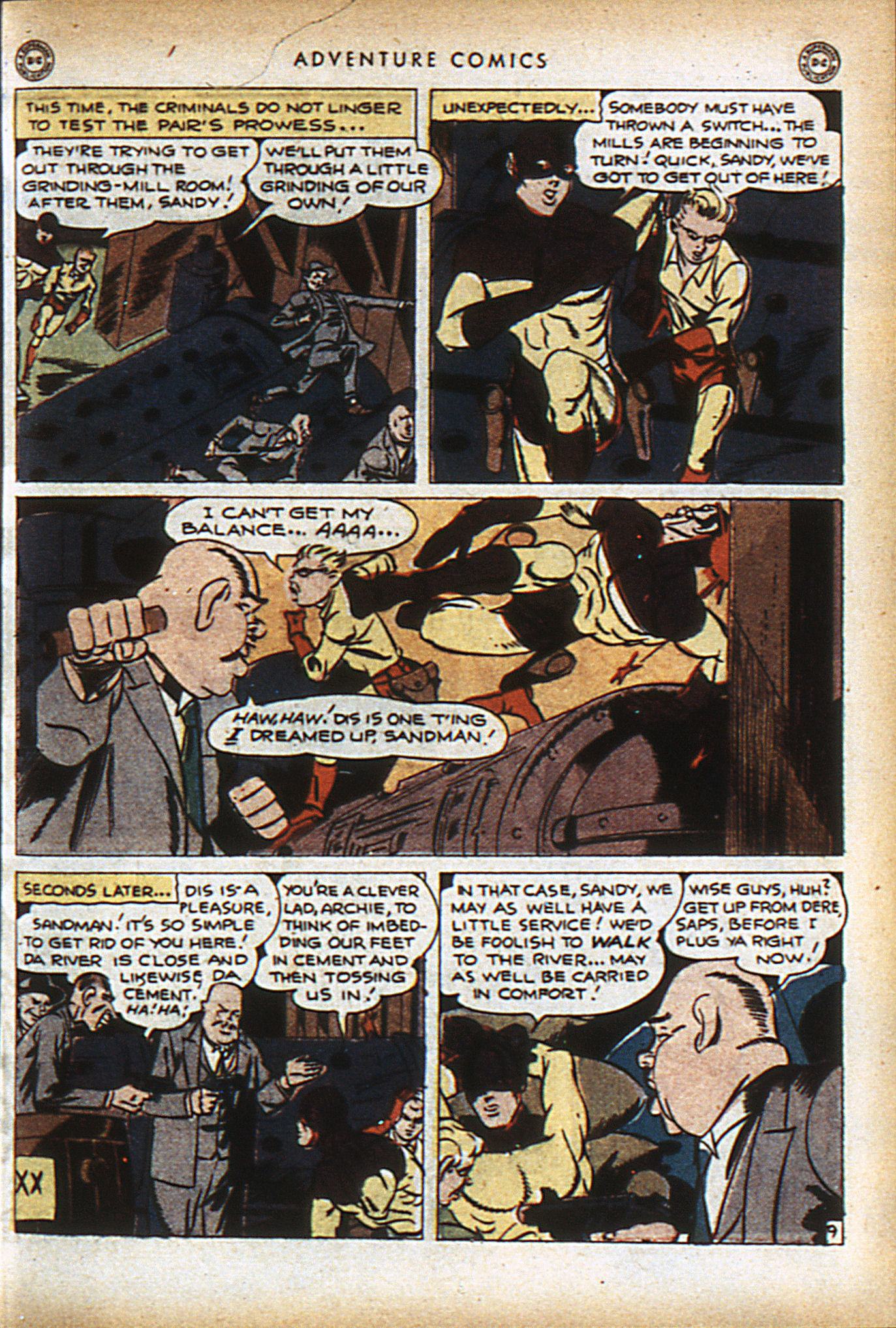 Read online Adventure Comics (1938) comic -  Issue #96 - 12