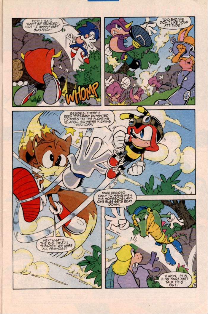 Read online Sonic Super Special comic -  Issue #1 - Sonic Vs. Knuckles Battle Royal - 6