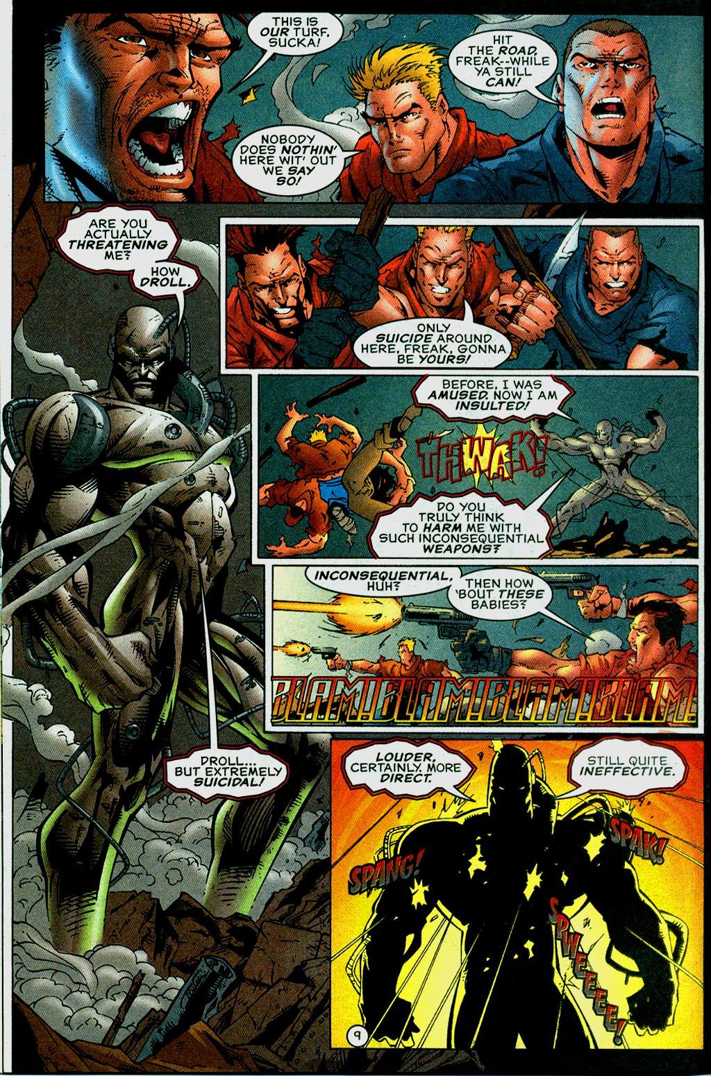 Read online UltraForce (1995) comic -  Issue #14 - 9