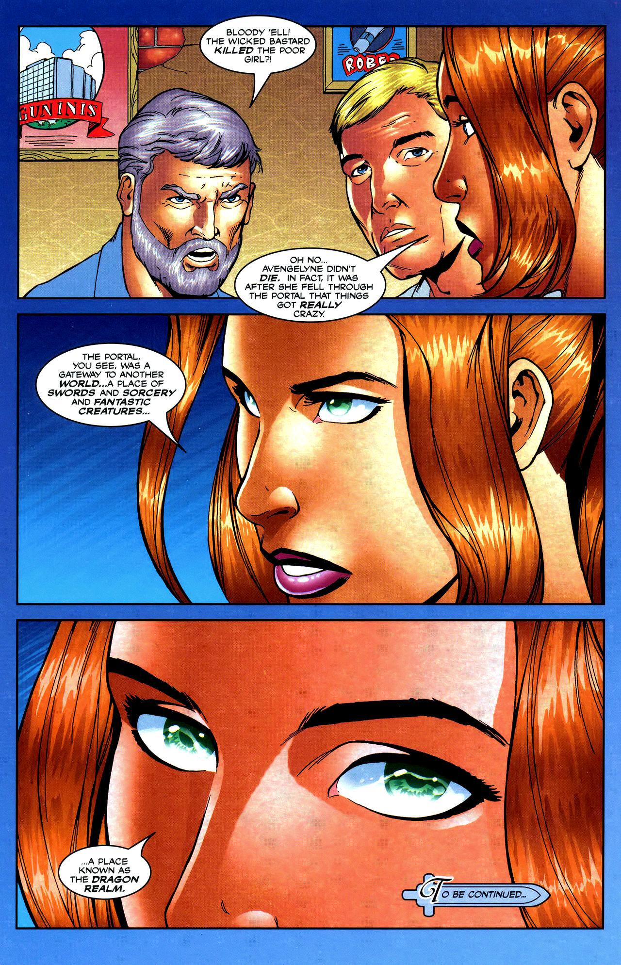 Read online Avengelyne: Dragon Realm comic -  Issue #0.5 - 18