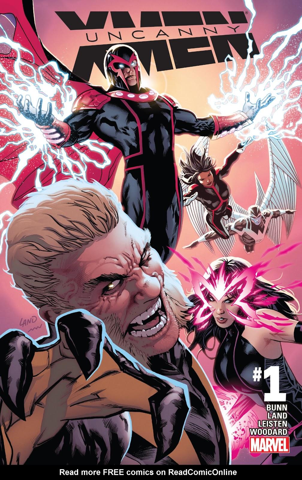 Uncanny X-Men (2016) issue 1 - Page 1