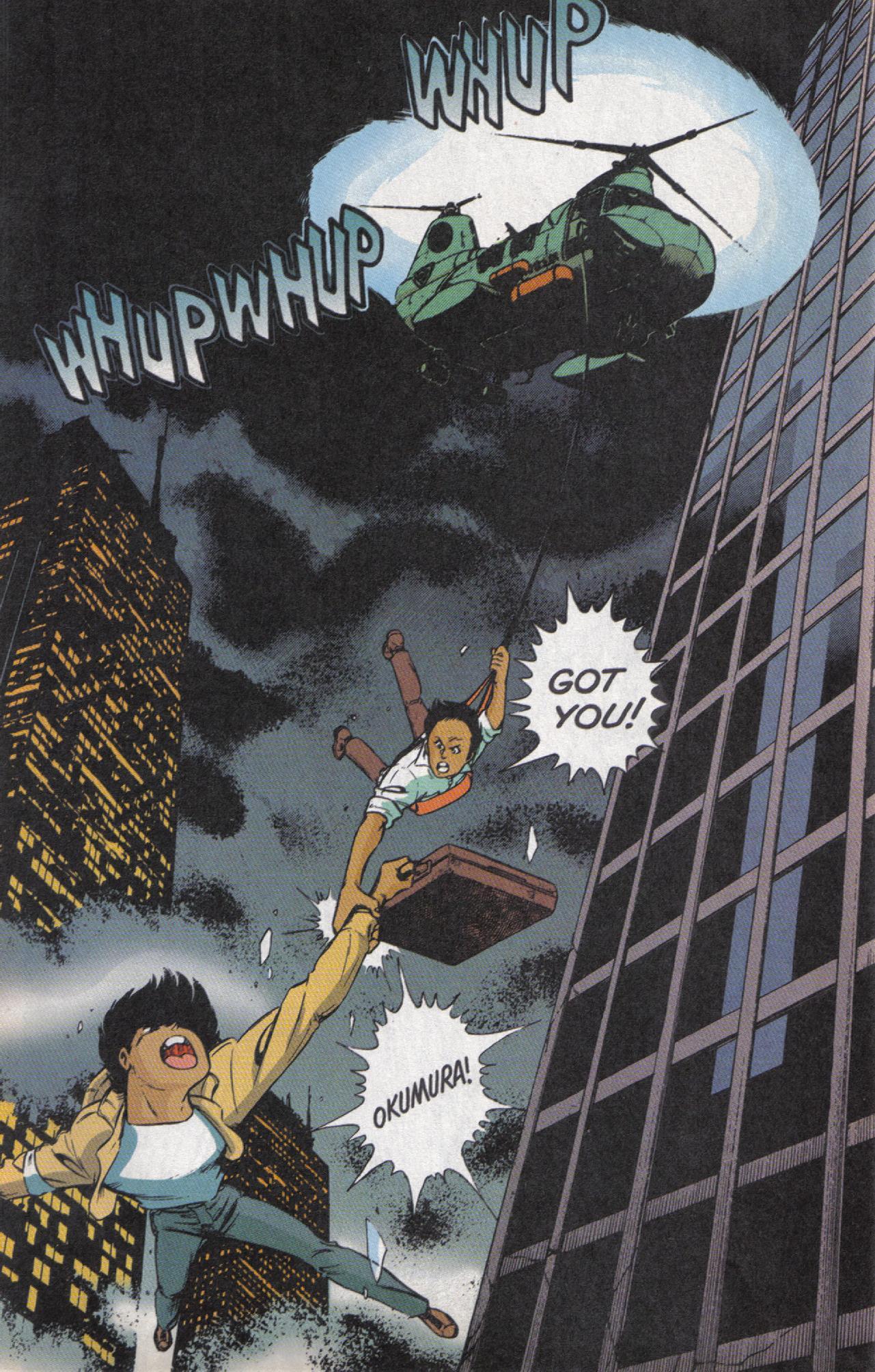 Read online Dark Horse Classics: Terror of Godzilla comic -  Issue #5 - 27