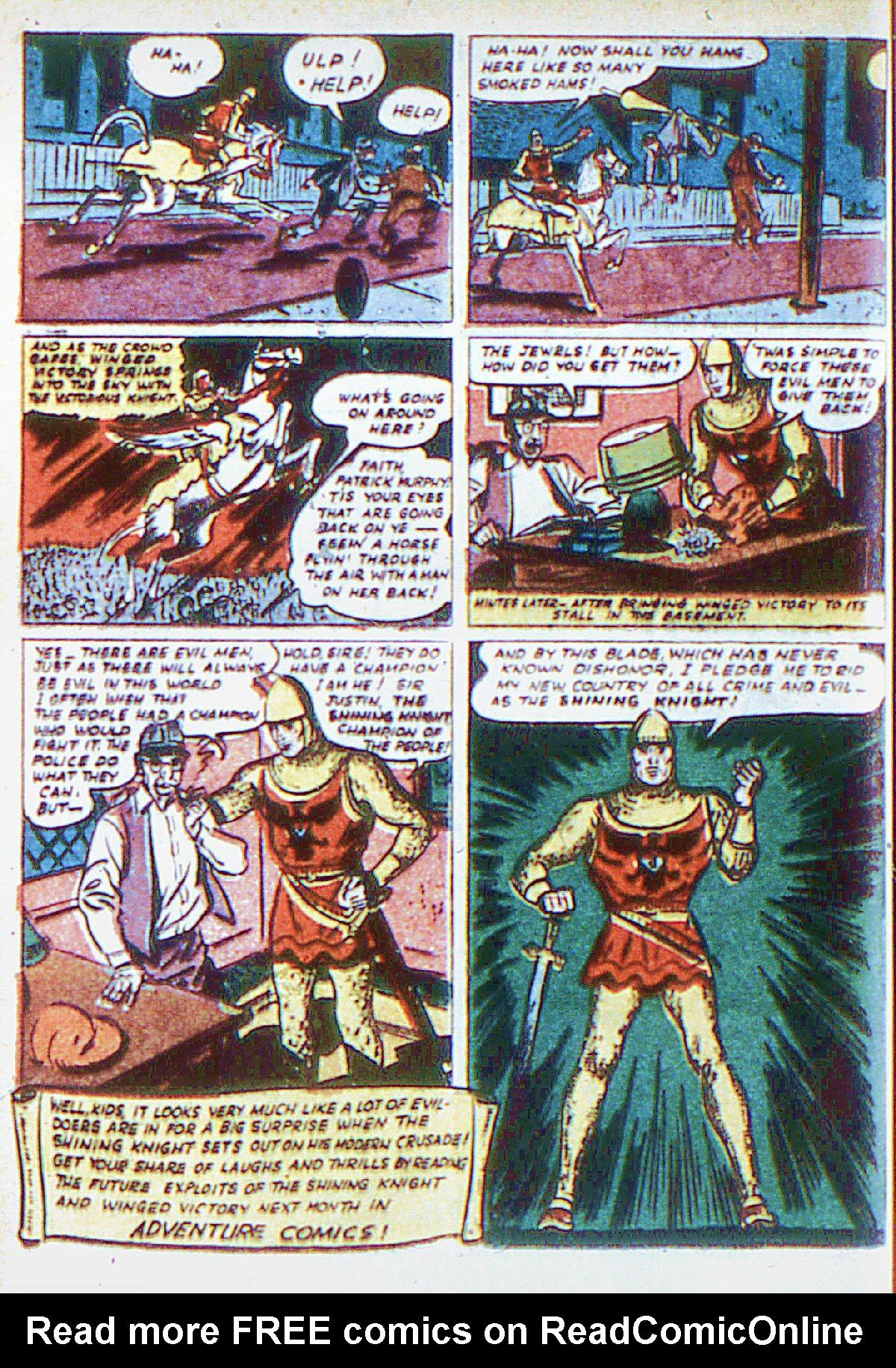 Read online Adventure Comics (1938) comic -  Issue #66 - 29
