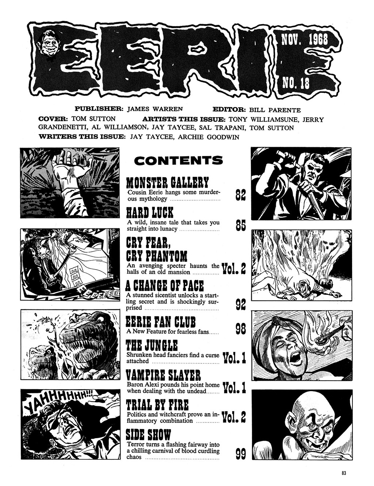 Read online Eerie Archives comic -  Issue # TPB 4 - 84