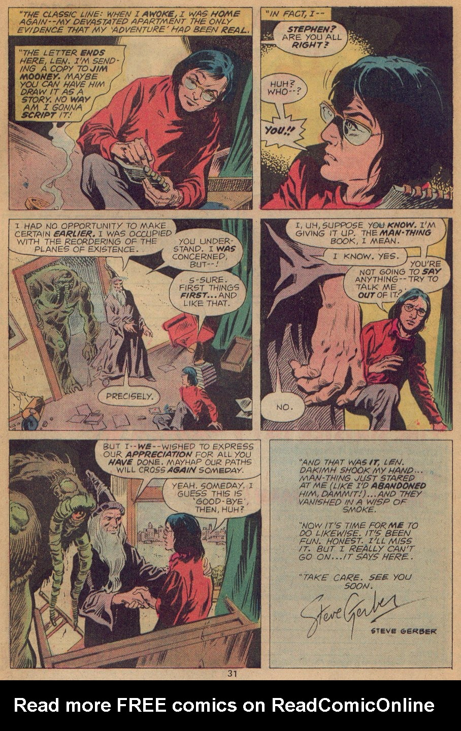 Man-Thing (1974) issue 22 - Page 20