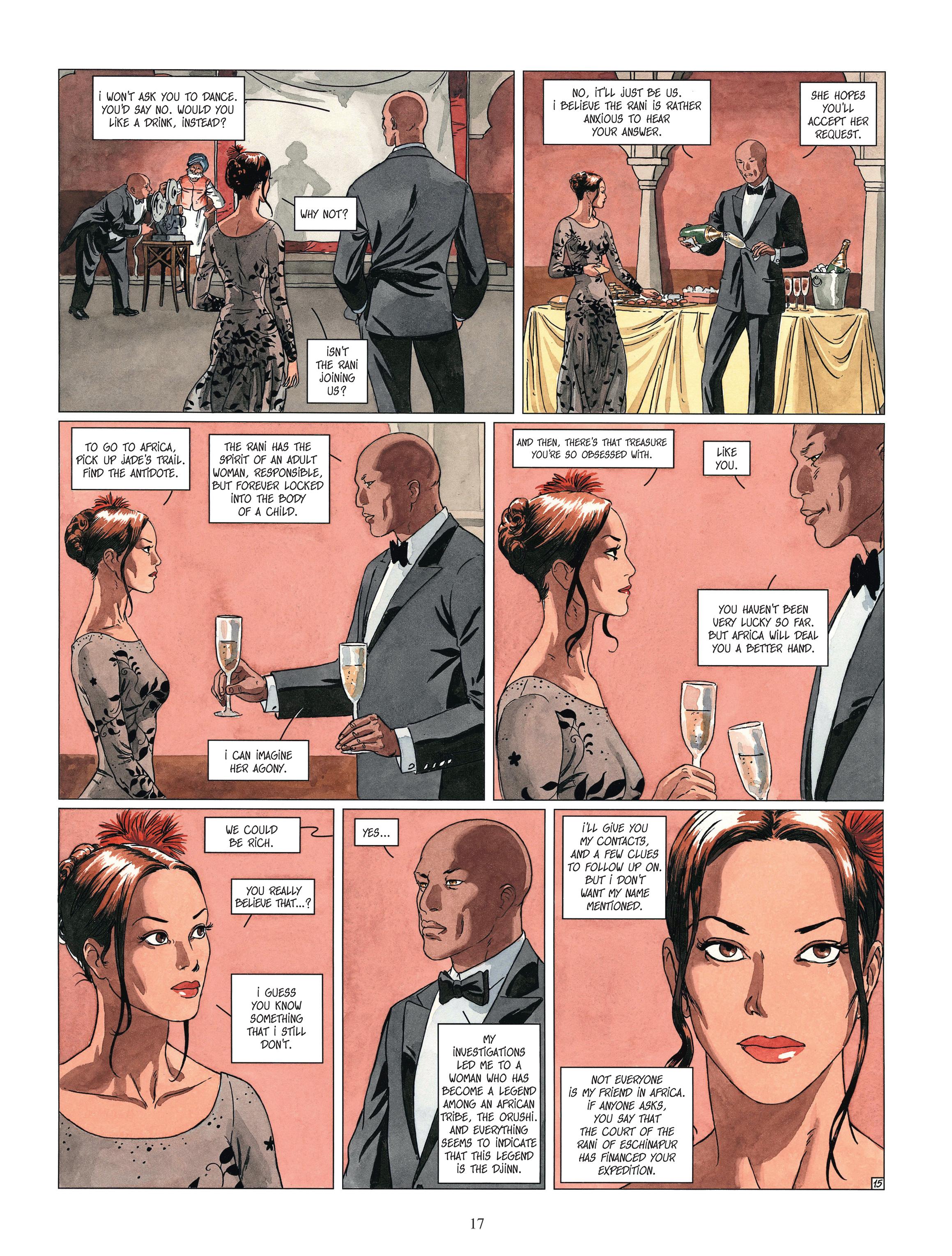 Read online Djinn comic -  Issue #13 - 18