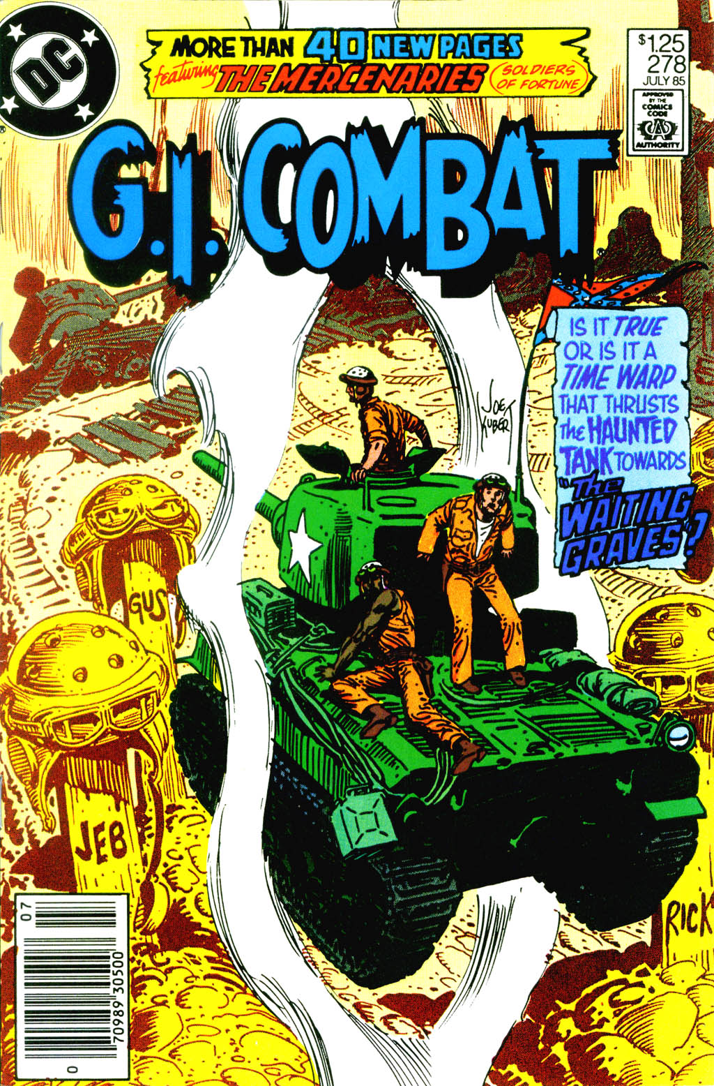 G.I. Combat (1952) issue 278 - Page 1