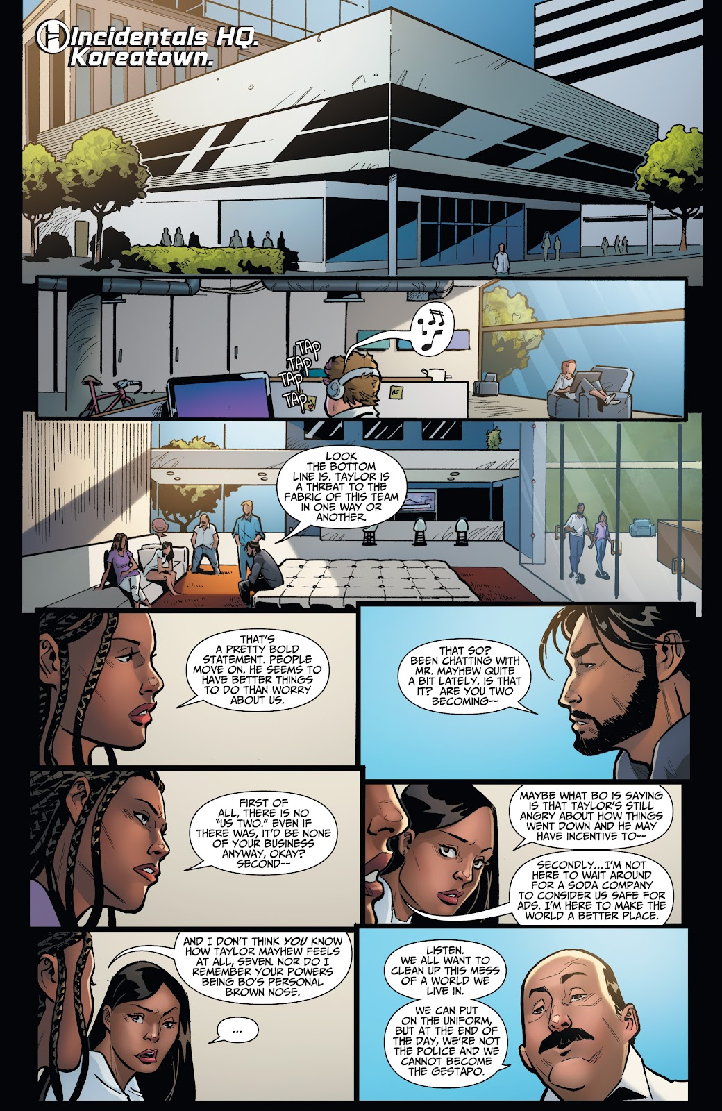 Read online Incidentals comic -  Issue #16 - 15
