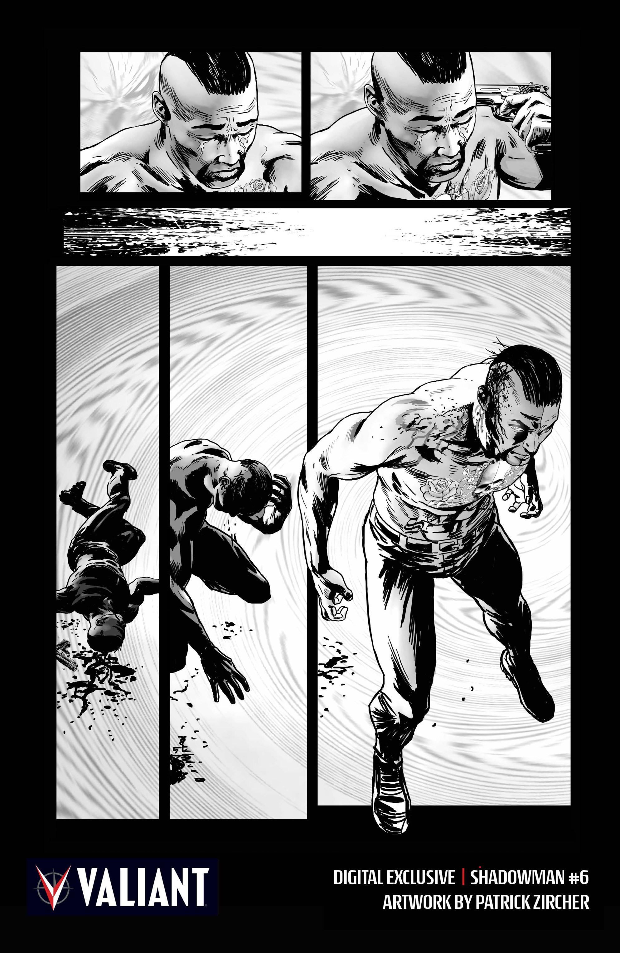 Read online Shadowman (2012) comic -  Issue #6 - 25