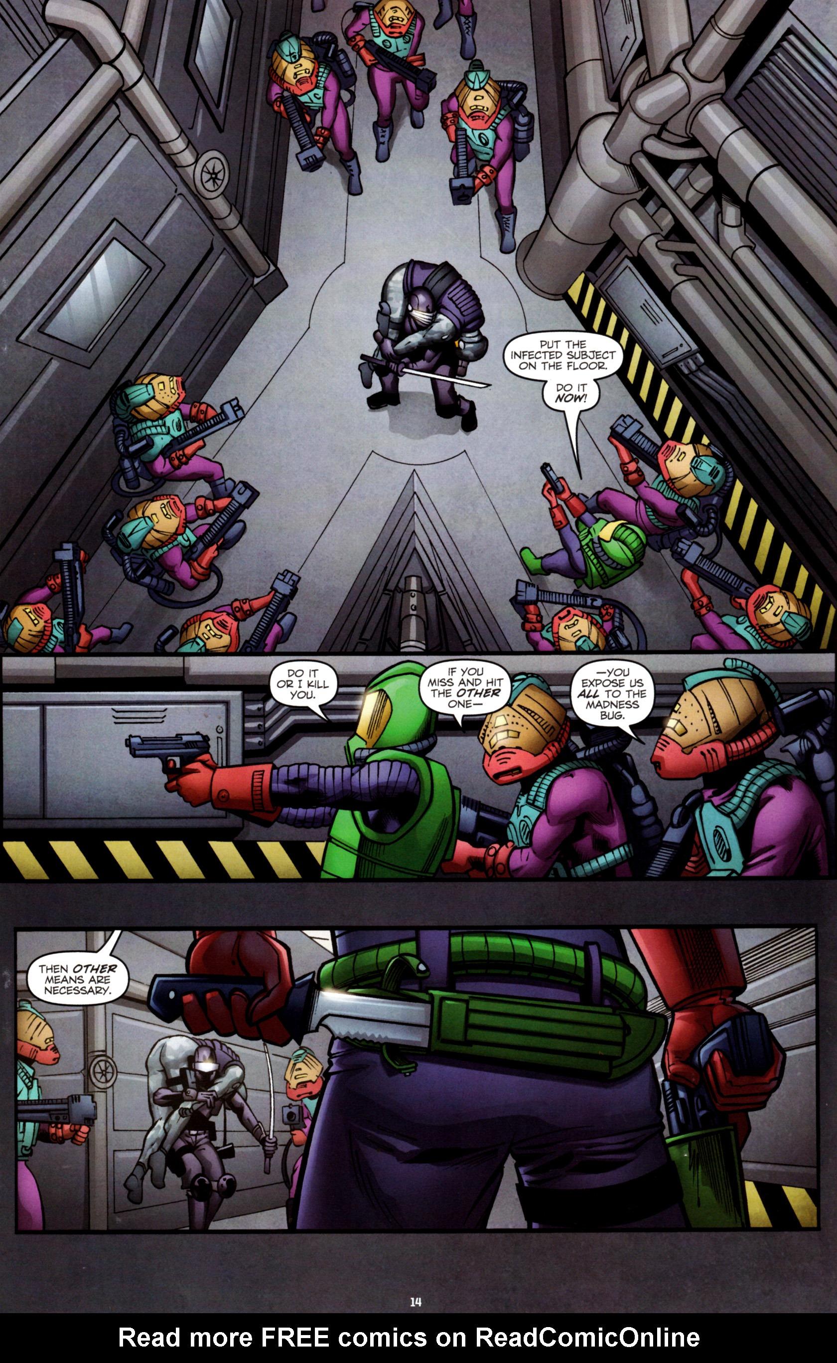 Read online G.I. Joe: Snake Eyes comic -  Issue #8 - 17