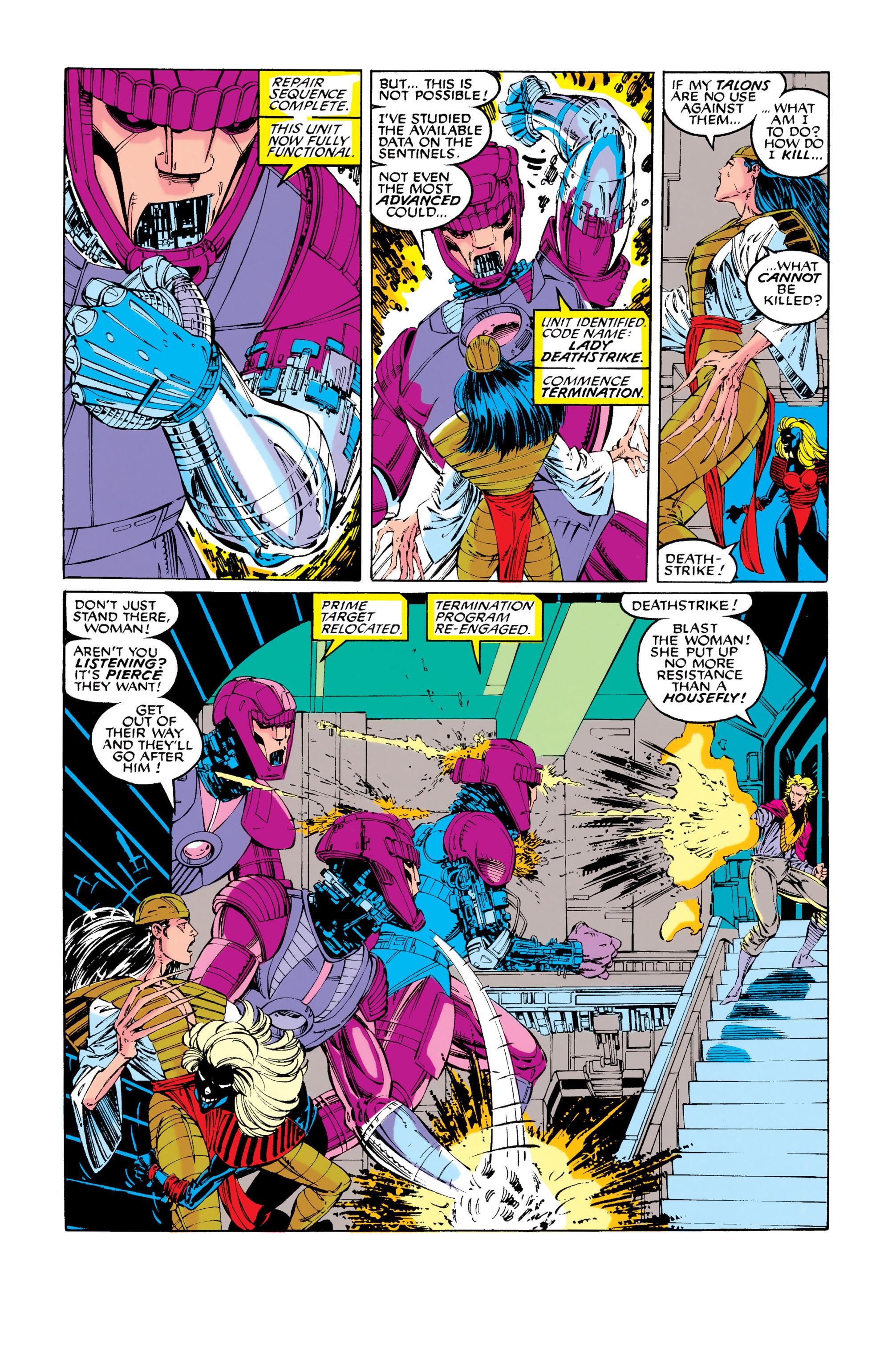 Read online Uncanny X-Men (1963) comic -  Issue #281 - 13