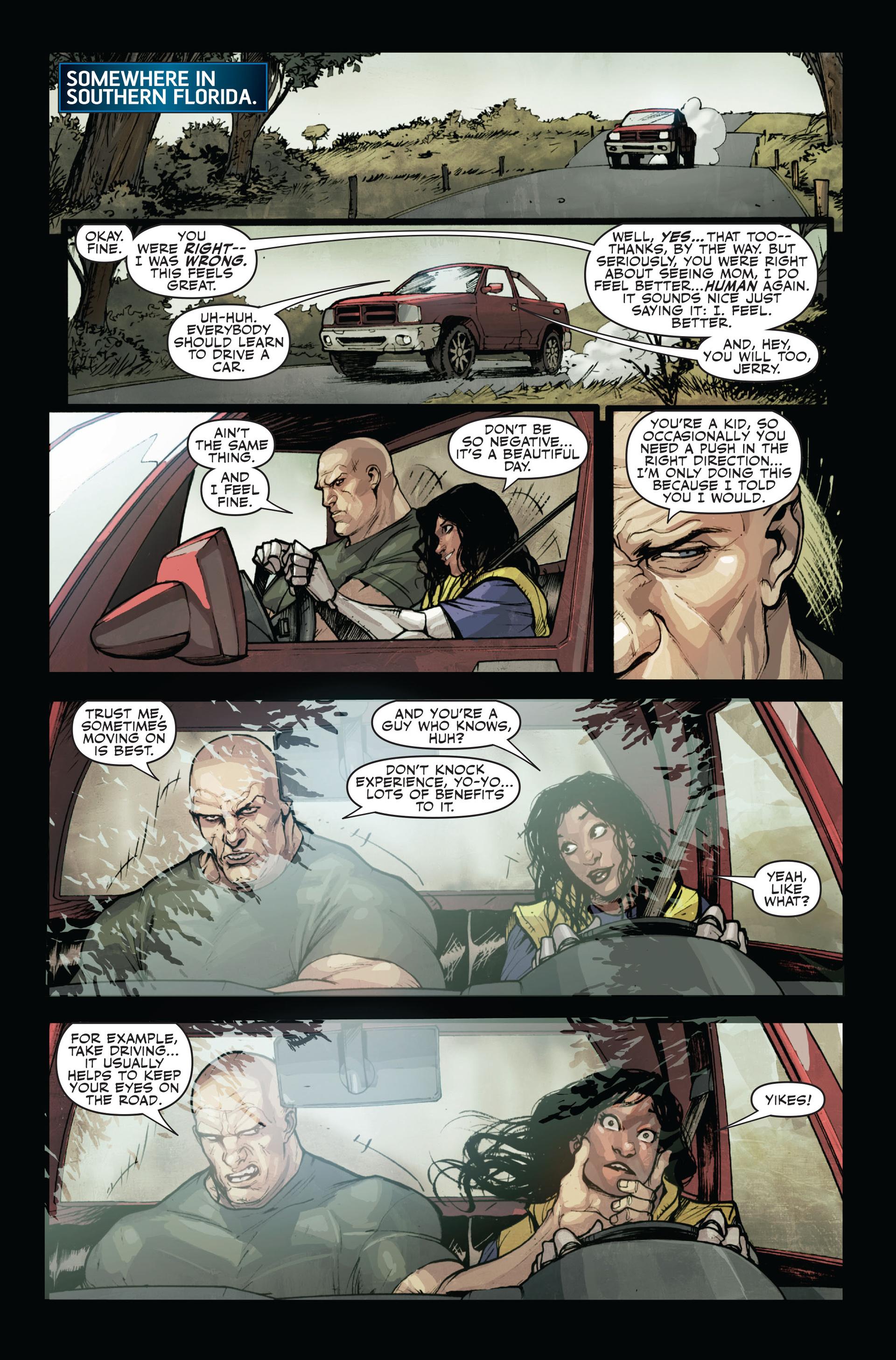 Read online Secret Warriors comic -  Issue #12 - 9