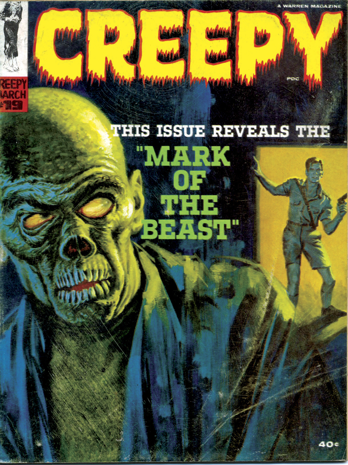 Creepy (1964) 19 Page 1