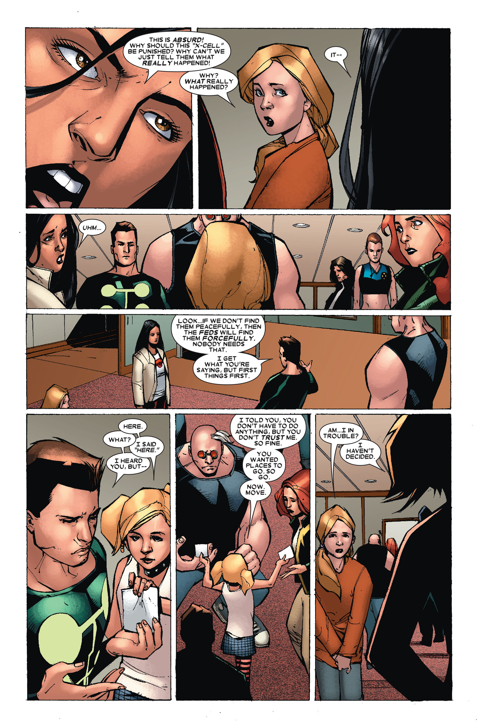 Read online X-Factor (2006) comic -  Issue #18 - 13