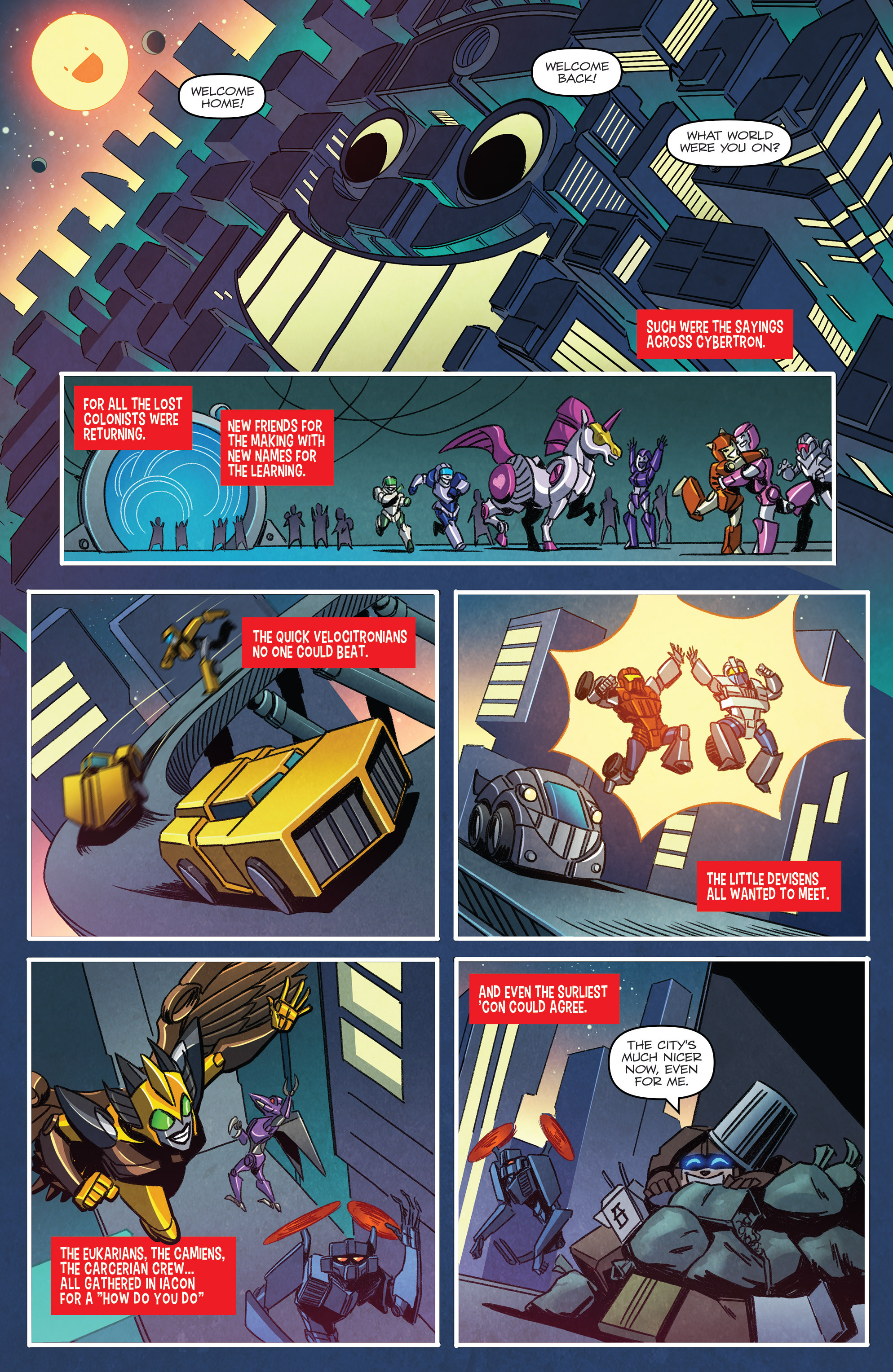 Read online Transformers: Holiday Special comic -  Issue # Full - 3