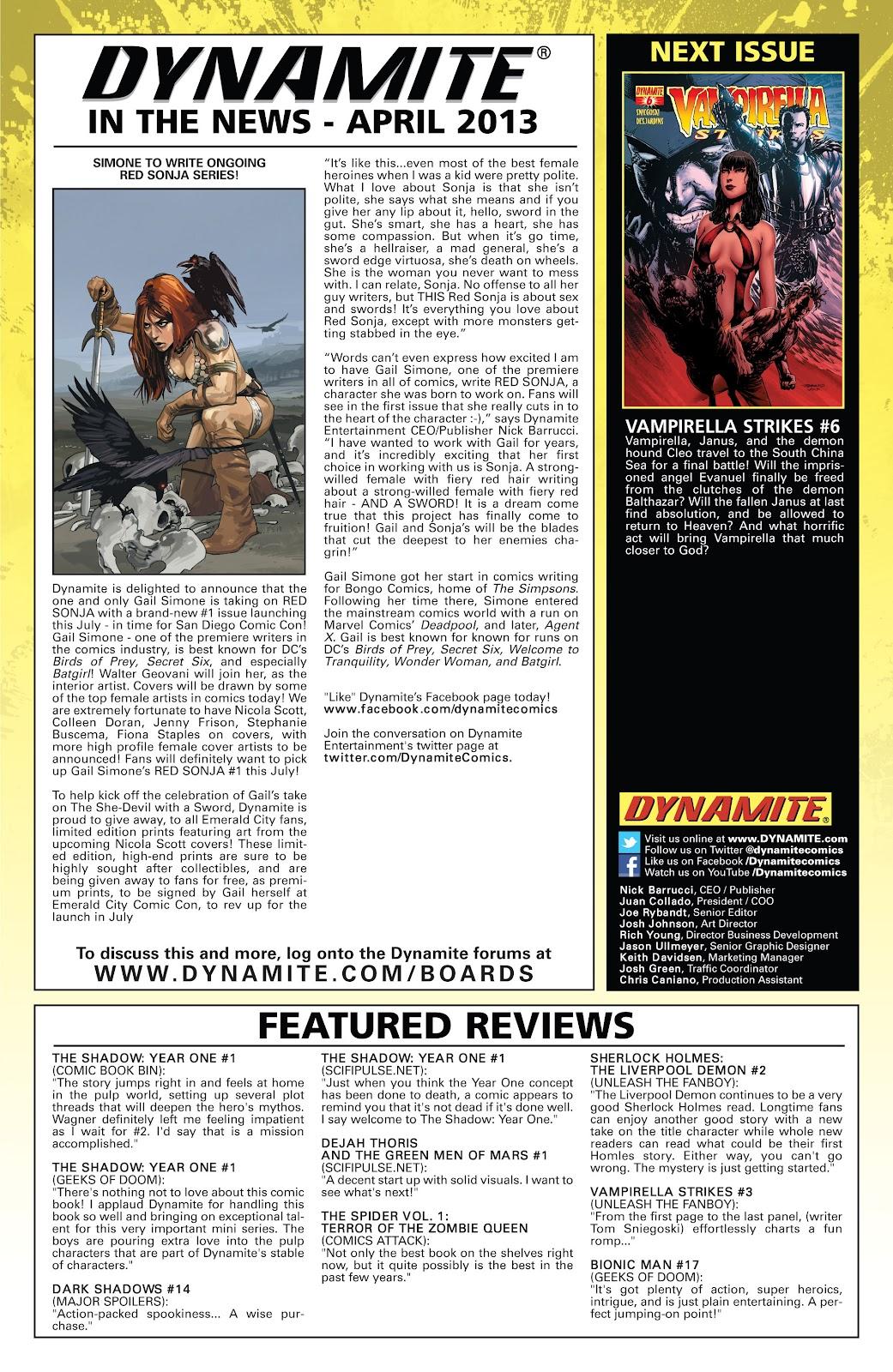 Read online Vampirella Strikes comic -  Issue #5 - 26