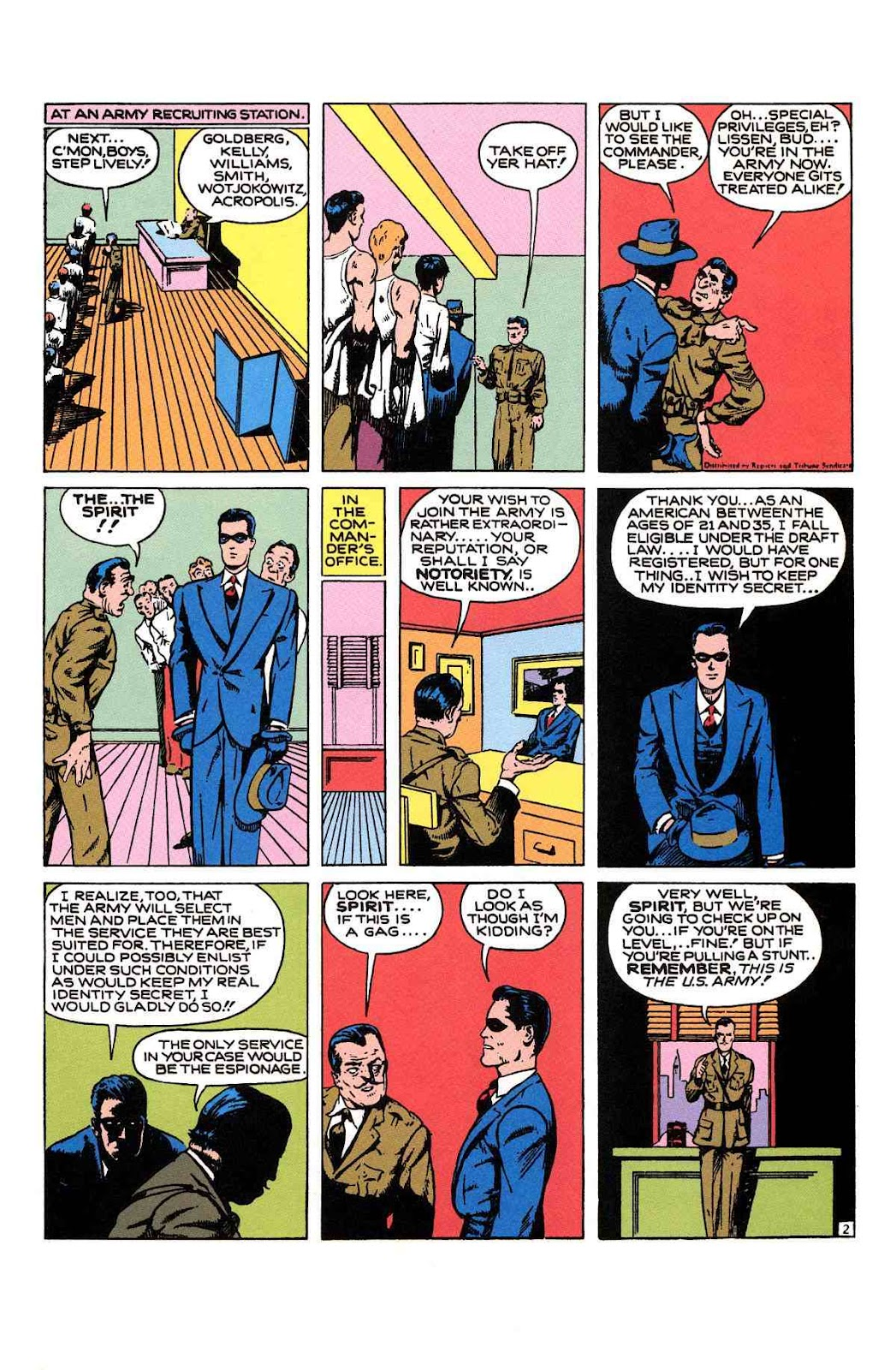 Read online Will Eisner's The Spirit Archives comic -  Issue # TPB 1 (Part 2) - 50