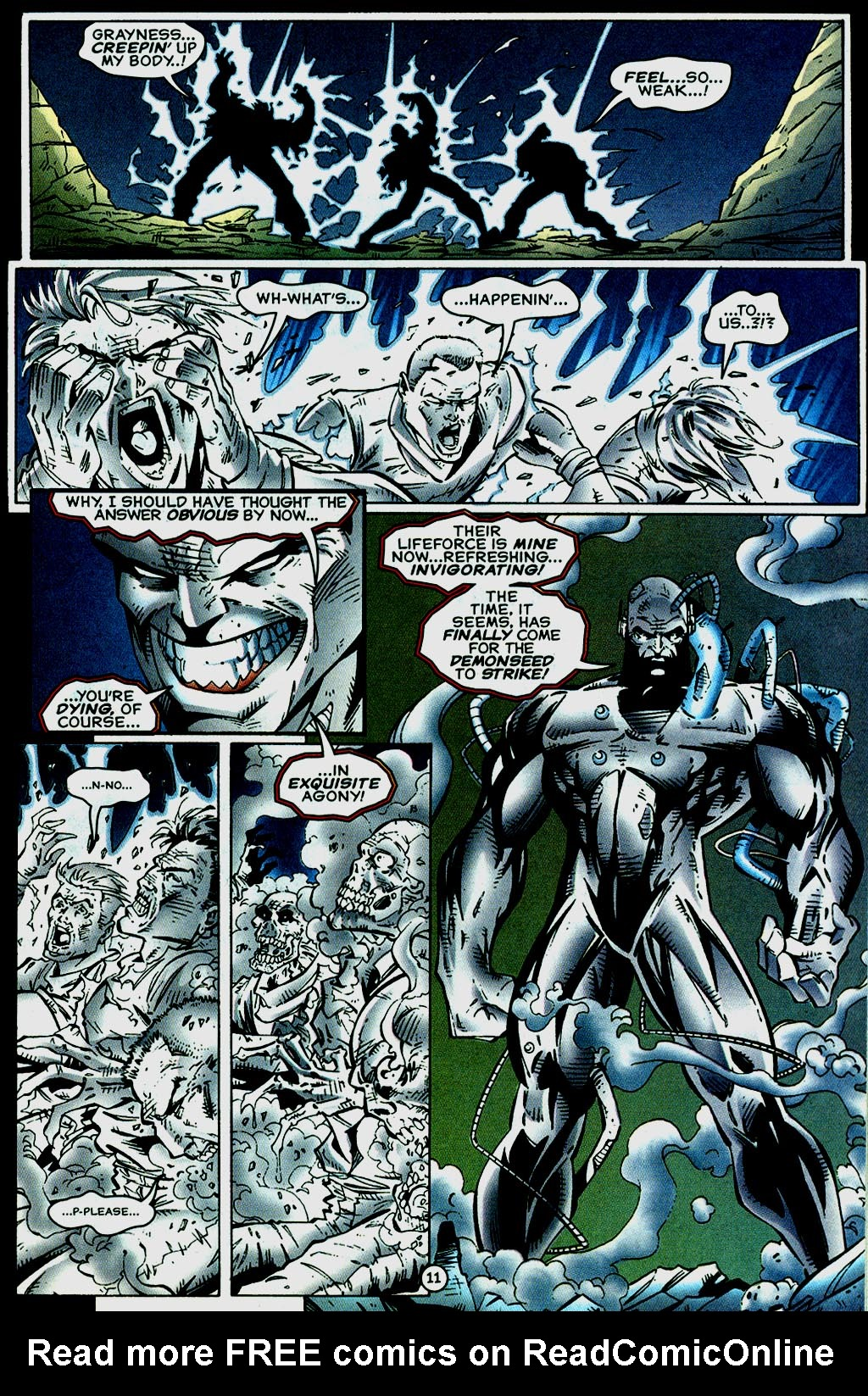 Read online UltraForce (1995) comic -  Issue #14 - 11