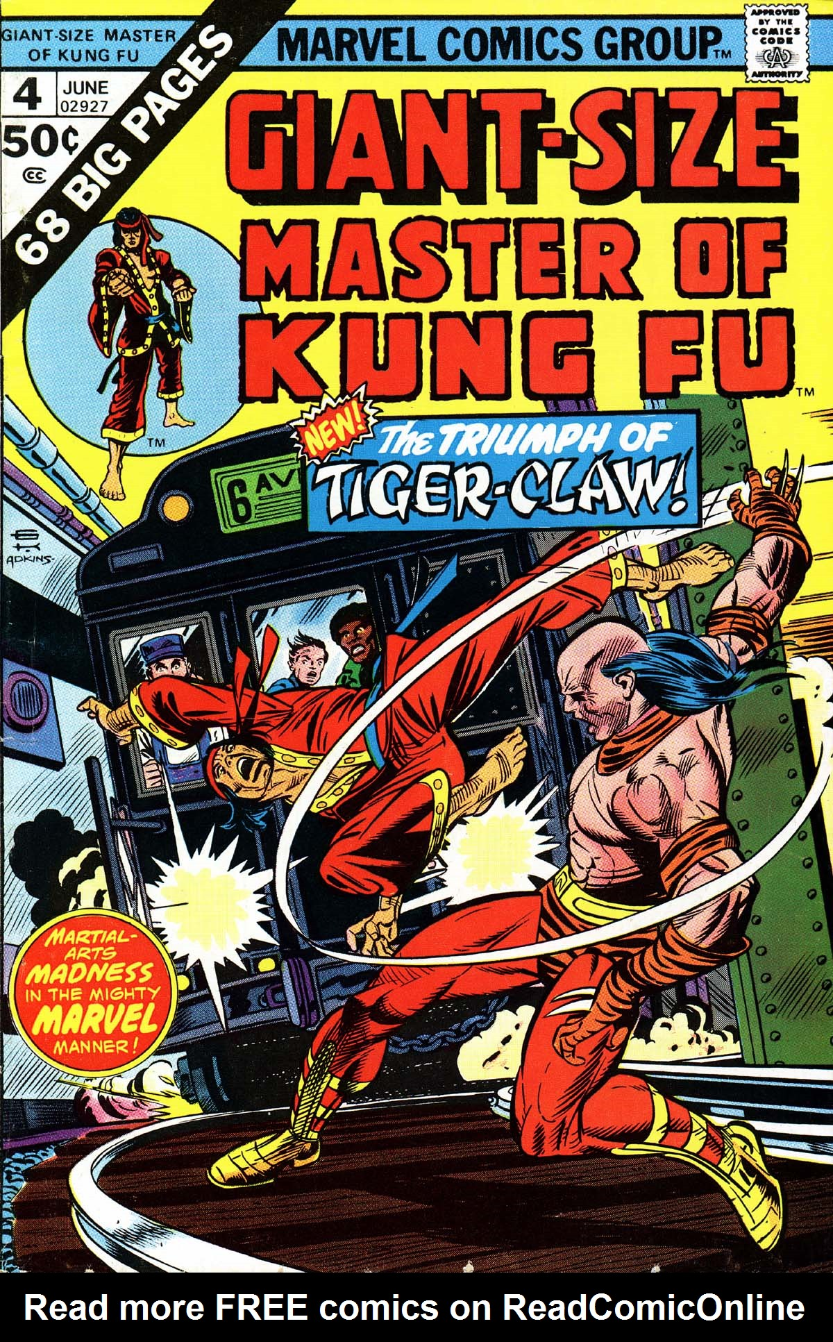 Read online Giant-Size Master of Kung Fu comic -  Issue #4 - 1