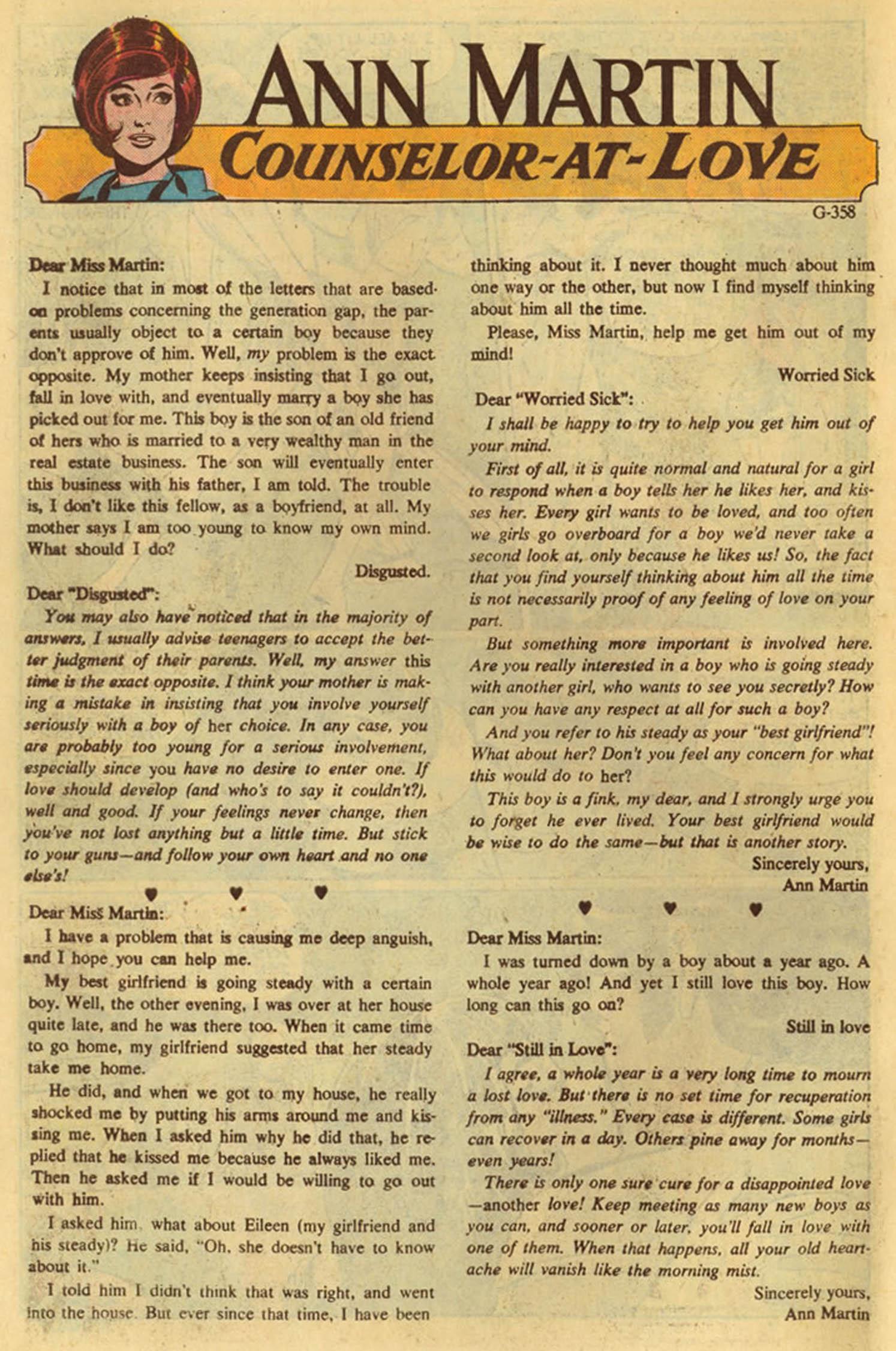 Read online Secret Hearts comic -  Issue #139 - 10