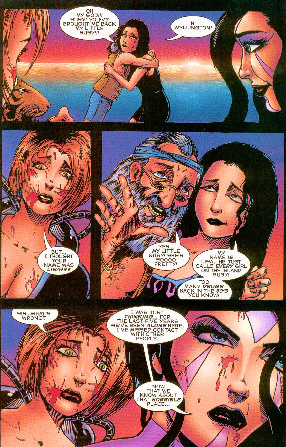 Read online Sisters of Mercy comic -  Issue #5 - 23