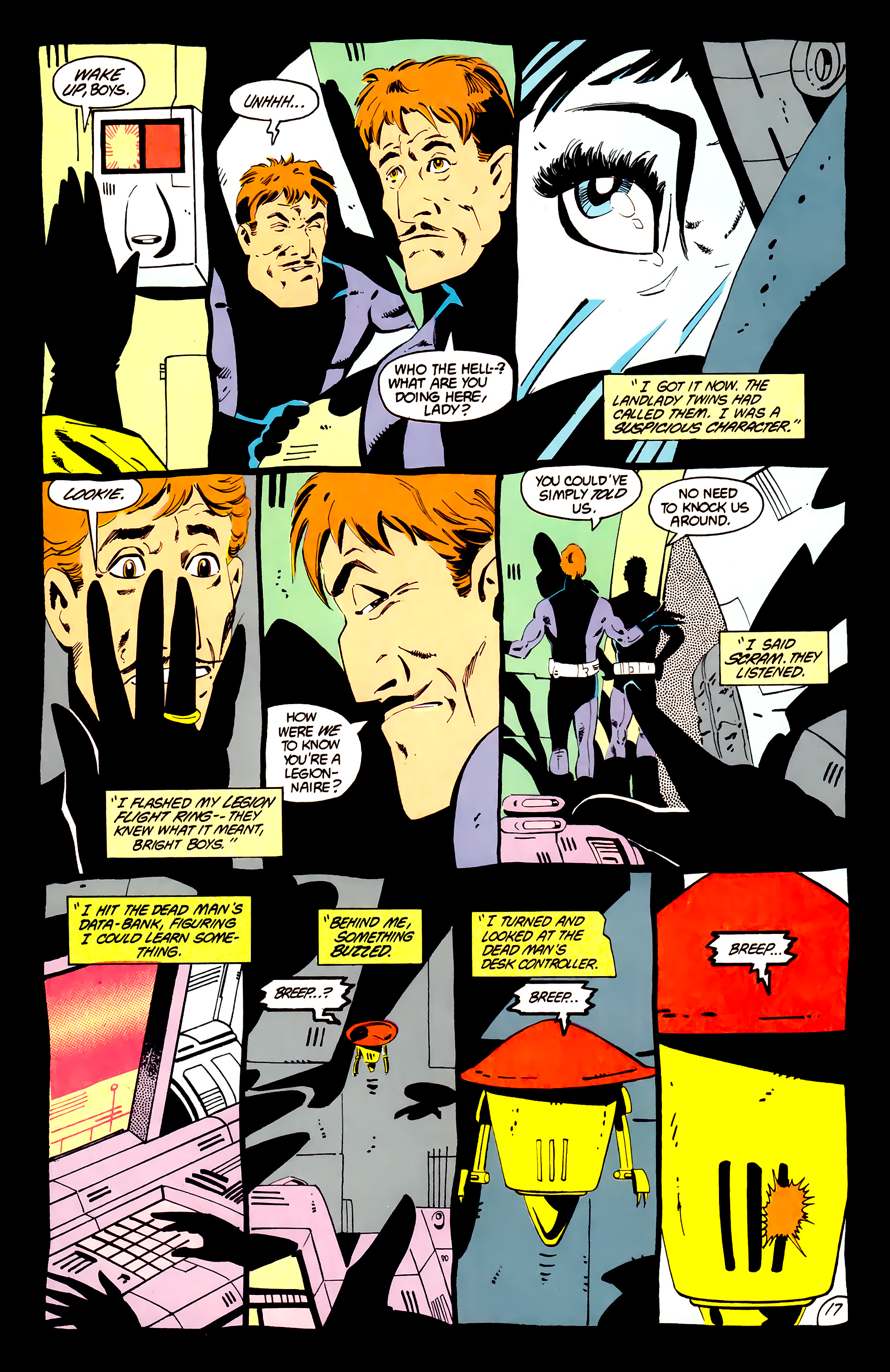 Legion of Super-Heroes (1984) _Annual_1 Page 18