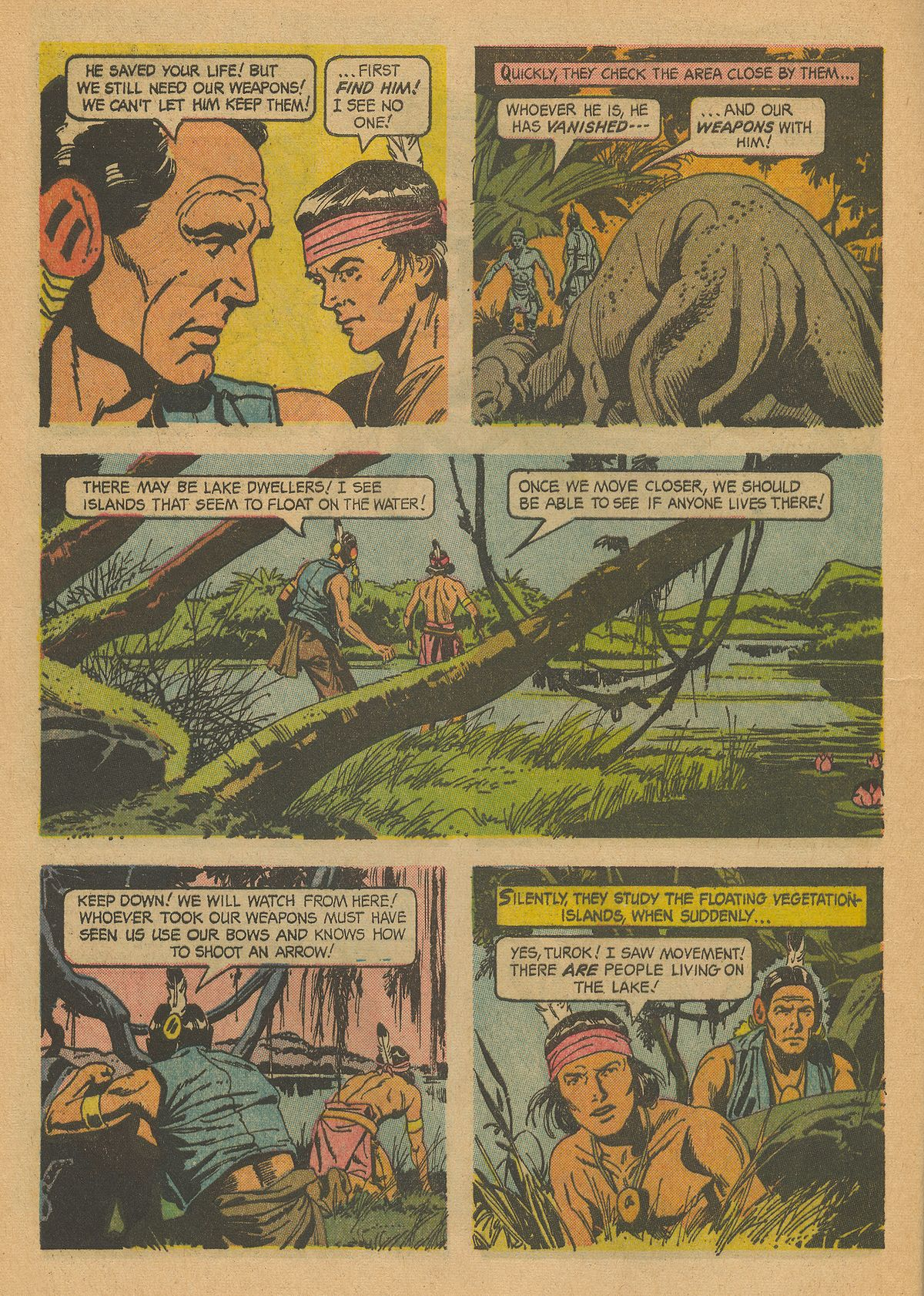 Read online Turok, Son of Stone comic -  Issue #43 - 8