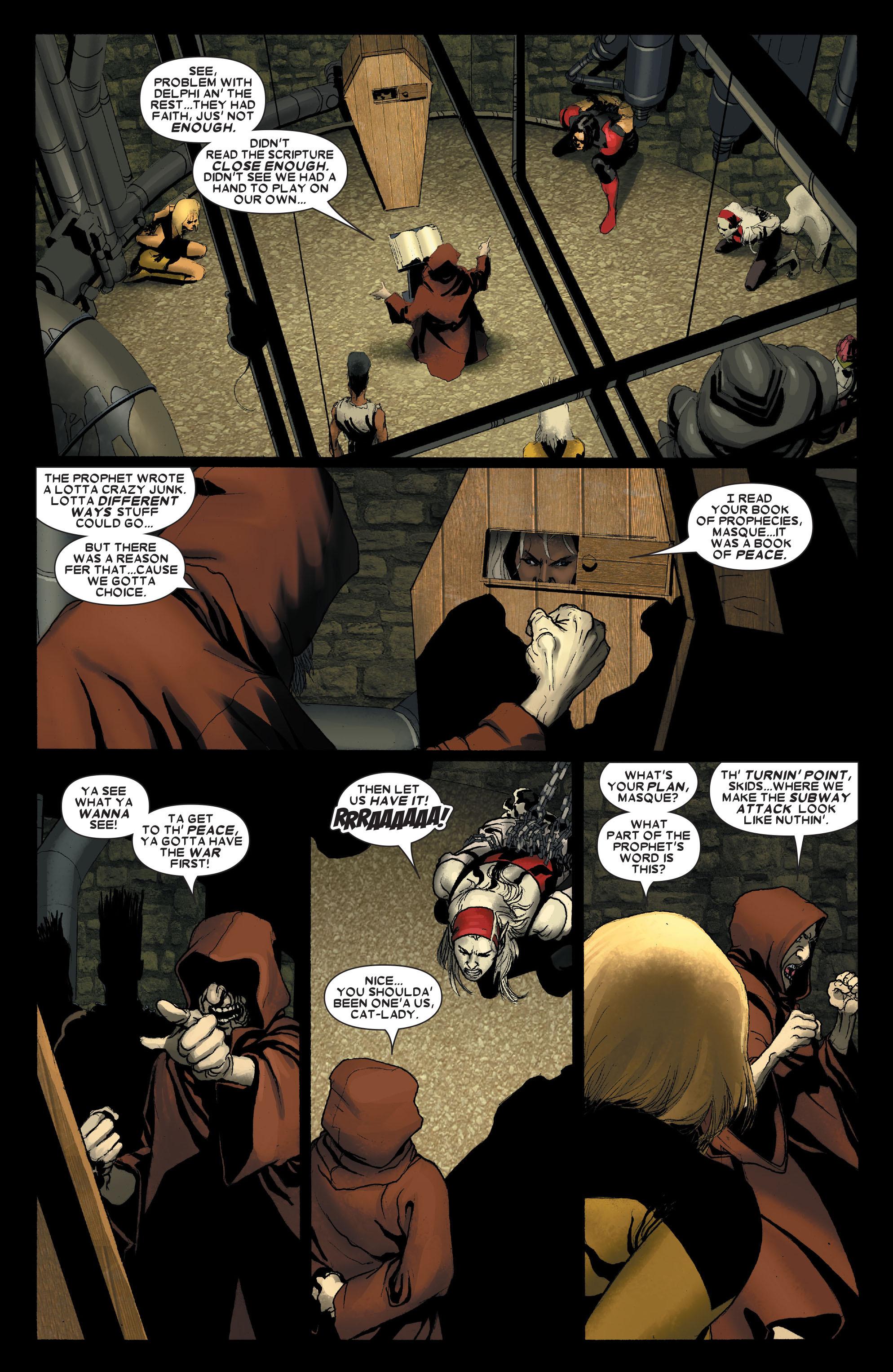 Read online Uncanny X-Men (1963) comic -  Issue #491 - 8