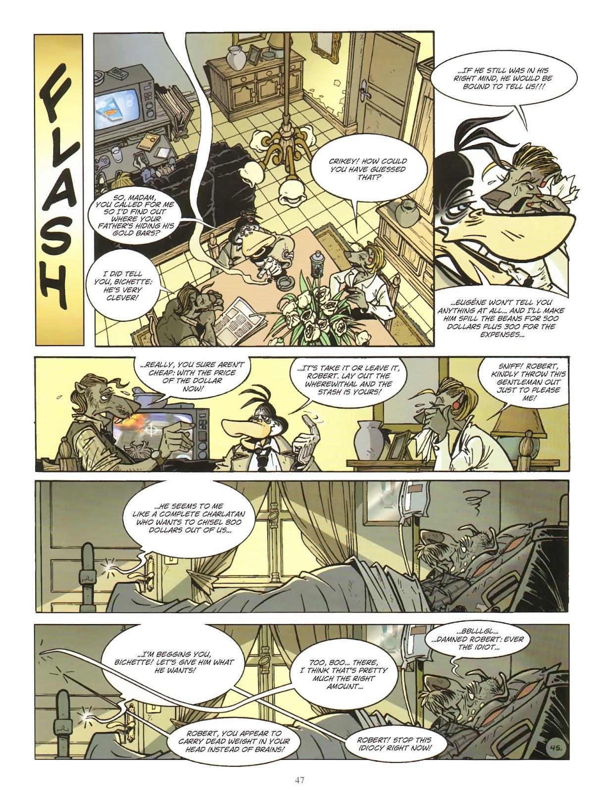 Une enquête de l'inspecteur Canardo issue 11 - Page 48