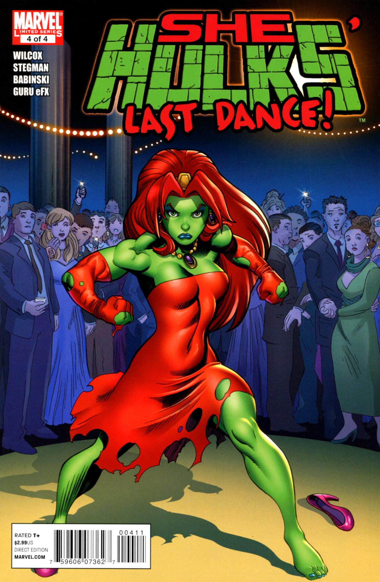 Read online She-Hulks comic -  Issue #4 - 1