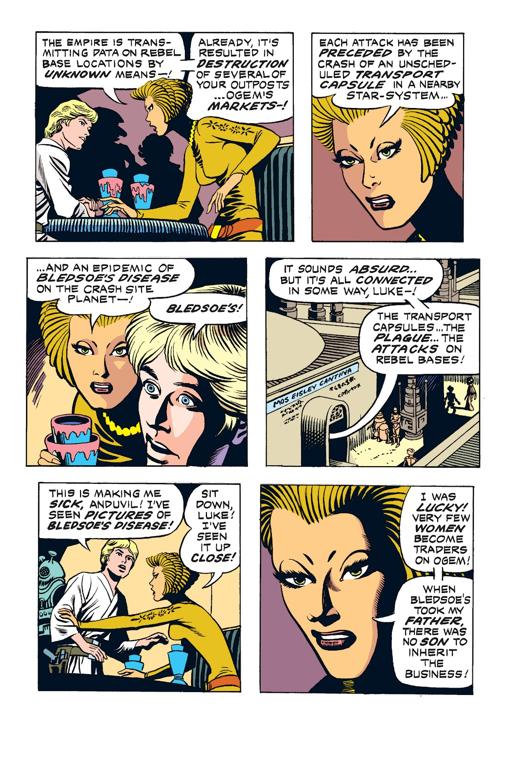 Read online Star Wars Legends: The Newspaper Strips - Epic Collection comic -  Issue # TPB (Part 2) - 30