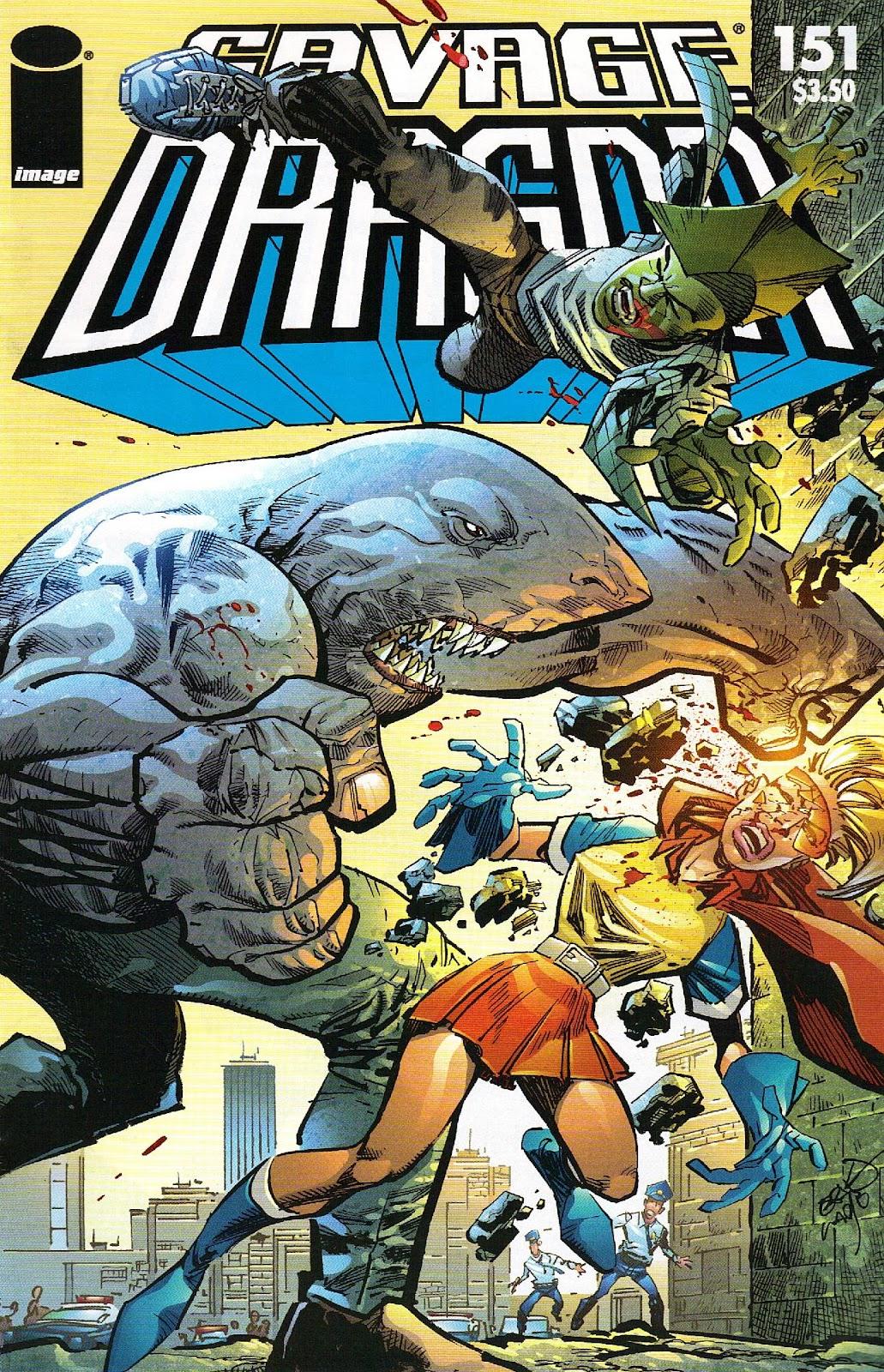 The Savage Dragon (1993) Issue #151 #154 - English 1
