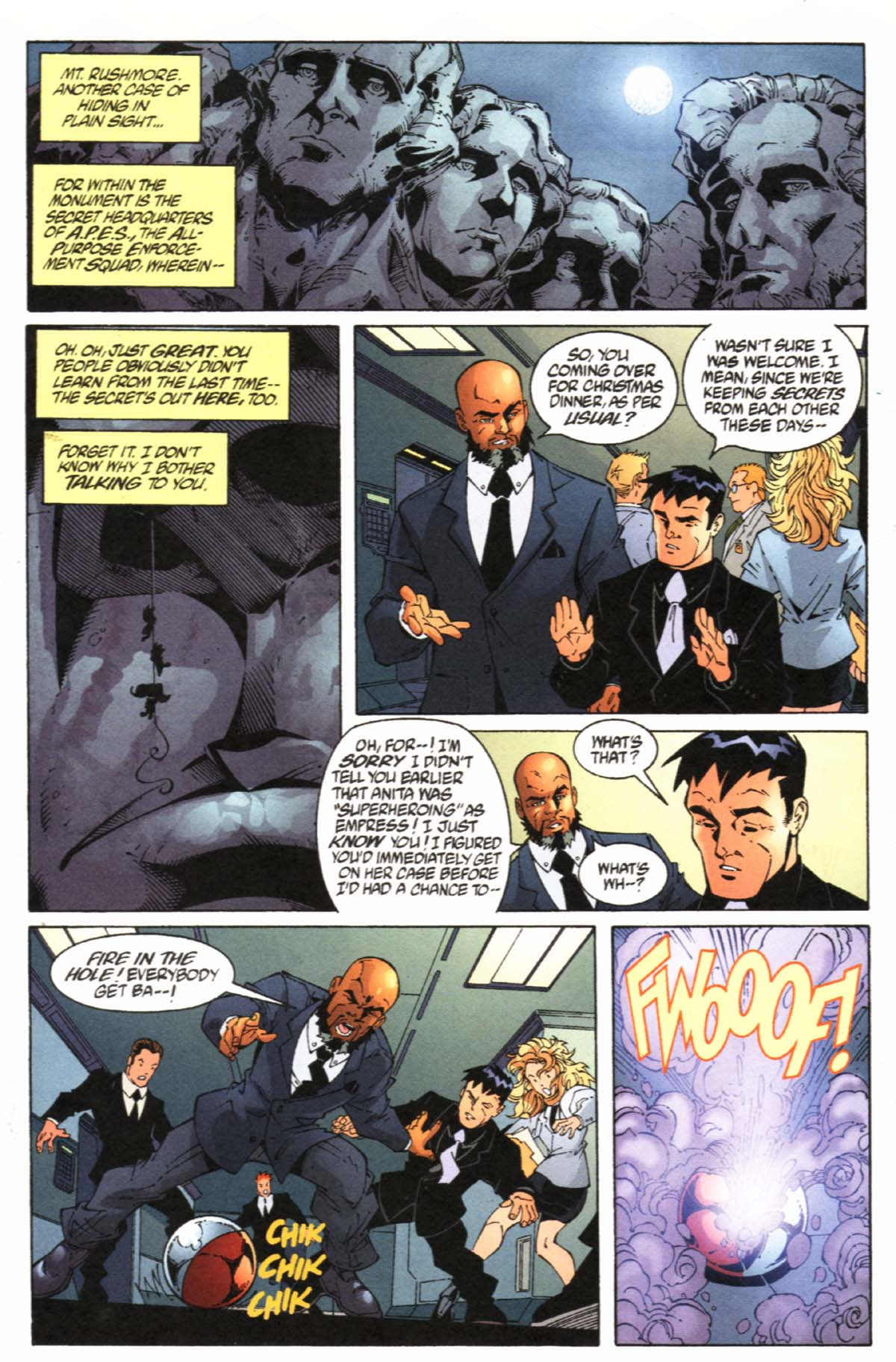 Read online SpyBoy/Young Justice comic -  Issue #1 - 7