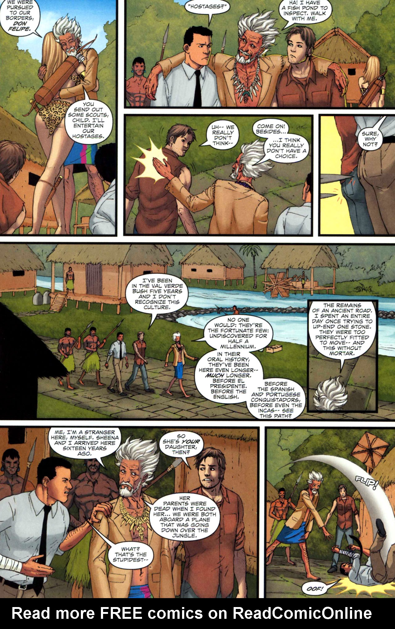 Read online Sheena, Queen of the Jungle comic -  Issue #5 - 14