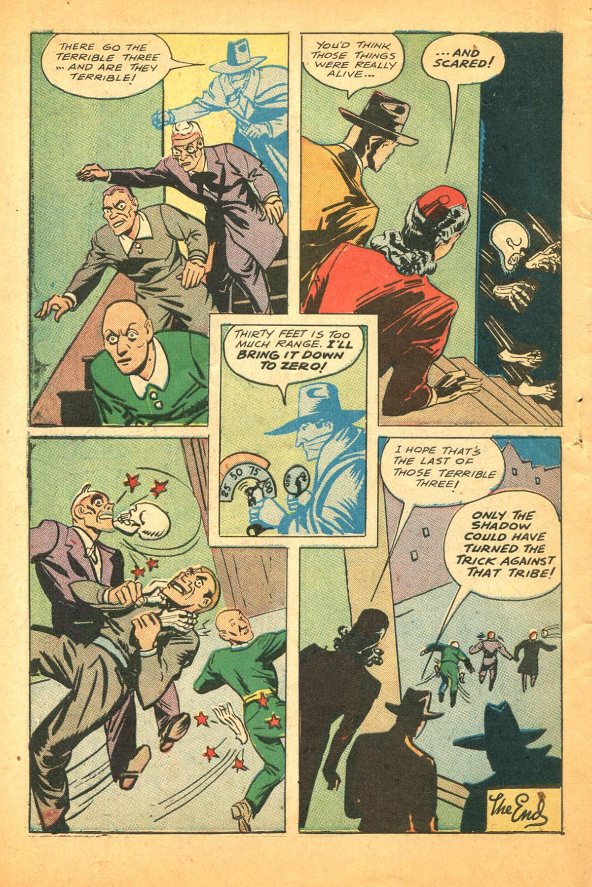 Read online Shadow Comics comic -  Issue #38 - 58