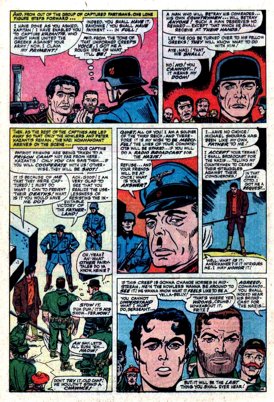 Read online Sgt. Fury comic -  Issue #33 - 20
