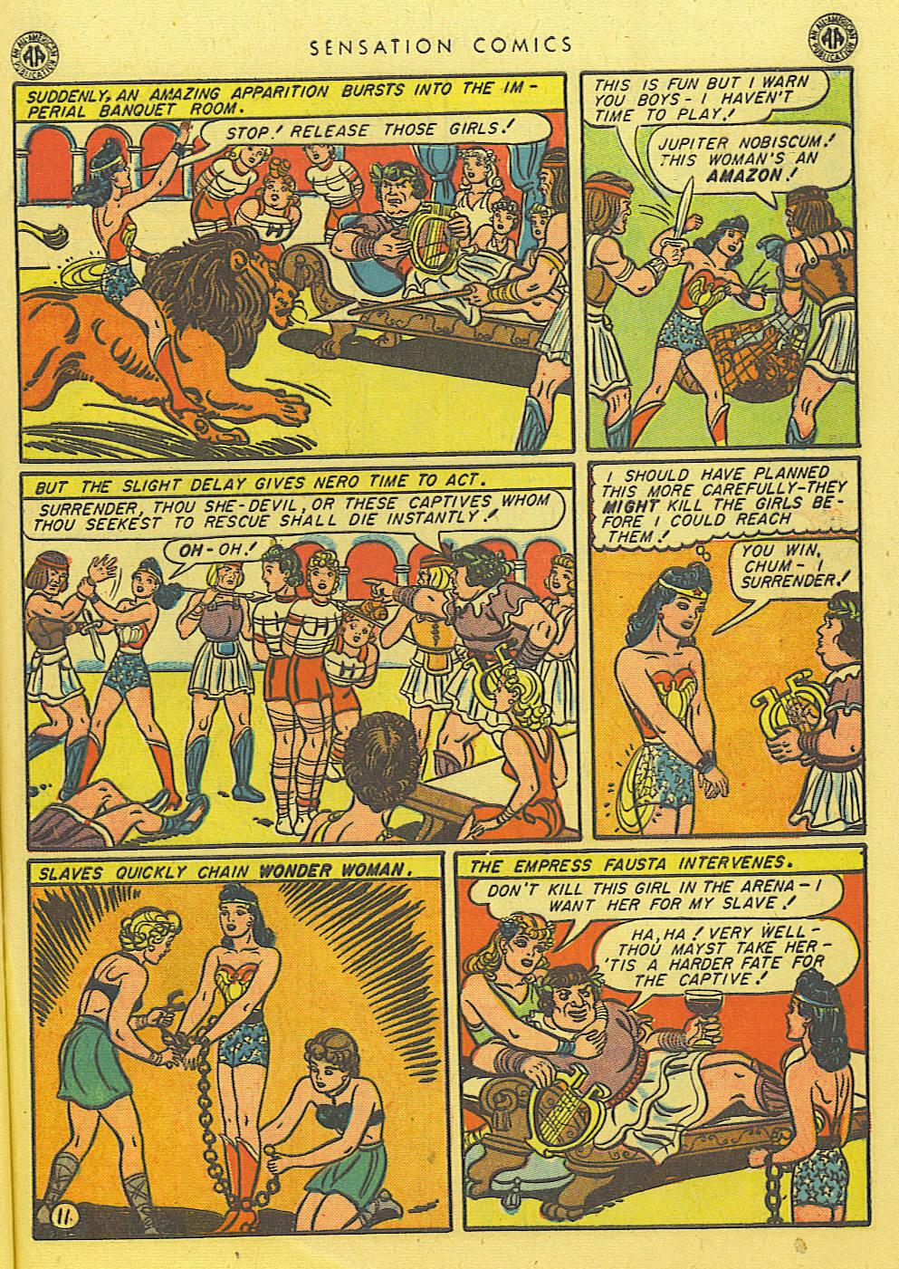 Read online Sensation (Mystery) Comics comic -  Issue #39 - 13