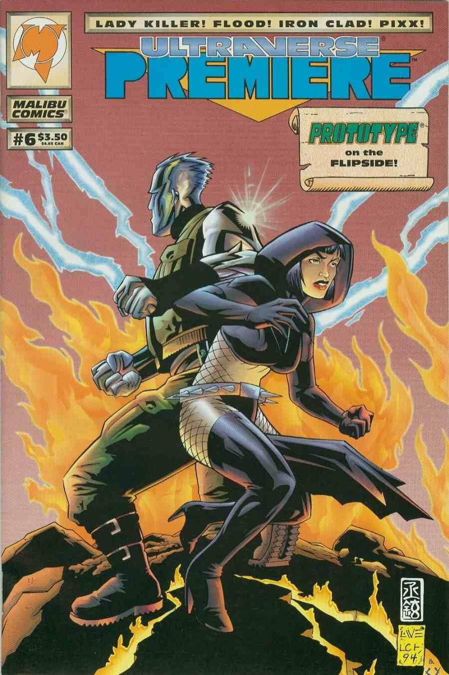 Read online Ultraverse Premiere comic -  Issue #6 - 1