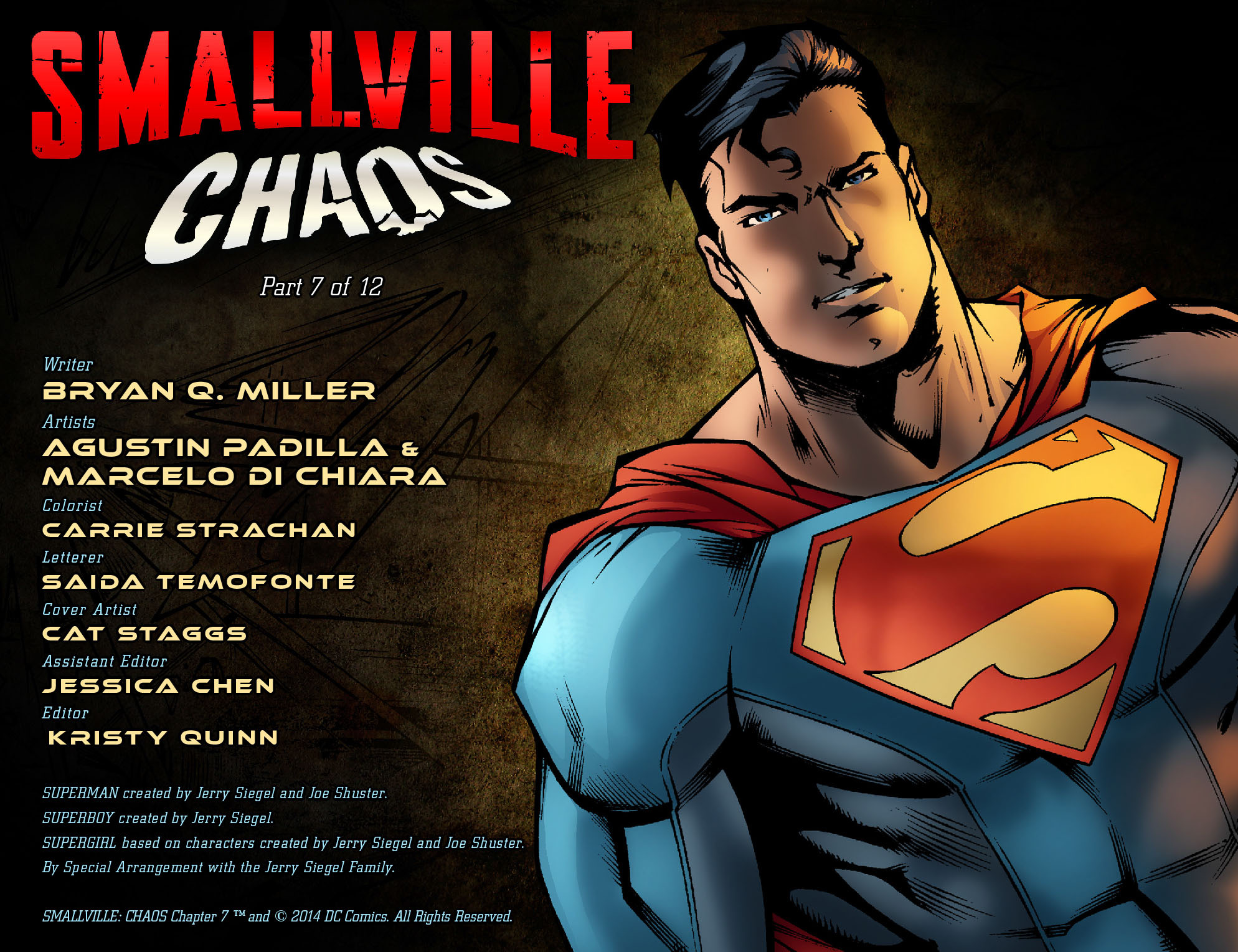 Read online Smallville: Chaos [II] comic -  Issue #7 - 2