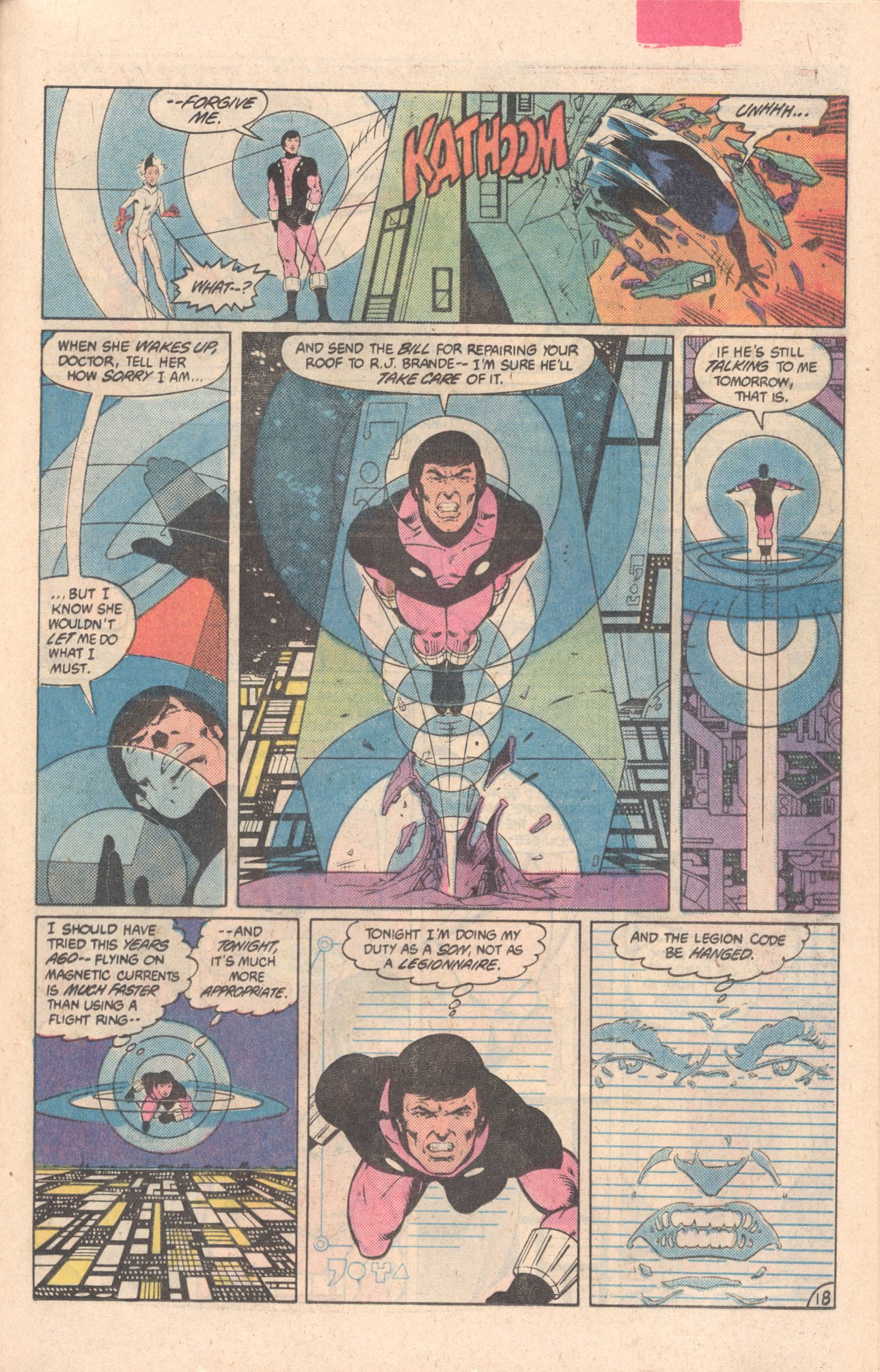 Legion of Super-Heroes (1980) 297 Page 18