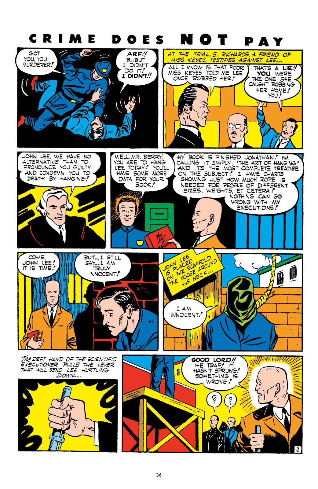 Read online Crime Does Not Pay Archives comic -  Issue # TPB 2 (Part 1) - 36