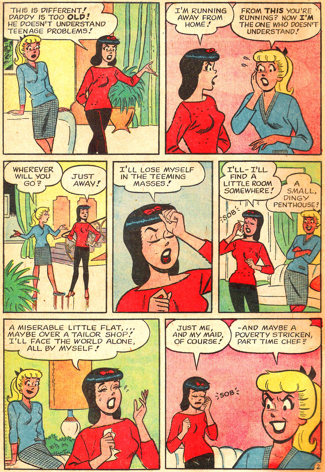 Read online Archie's Girls Betty and Veronica comic -  Issue #87 - 4