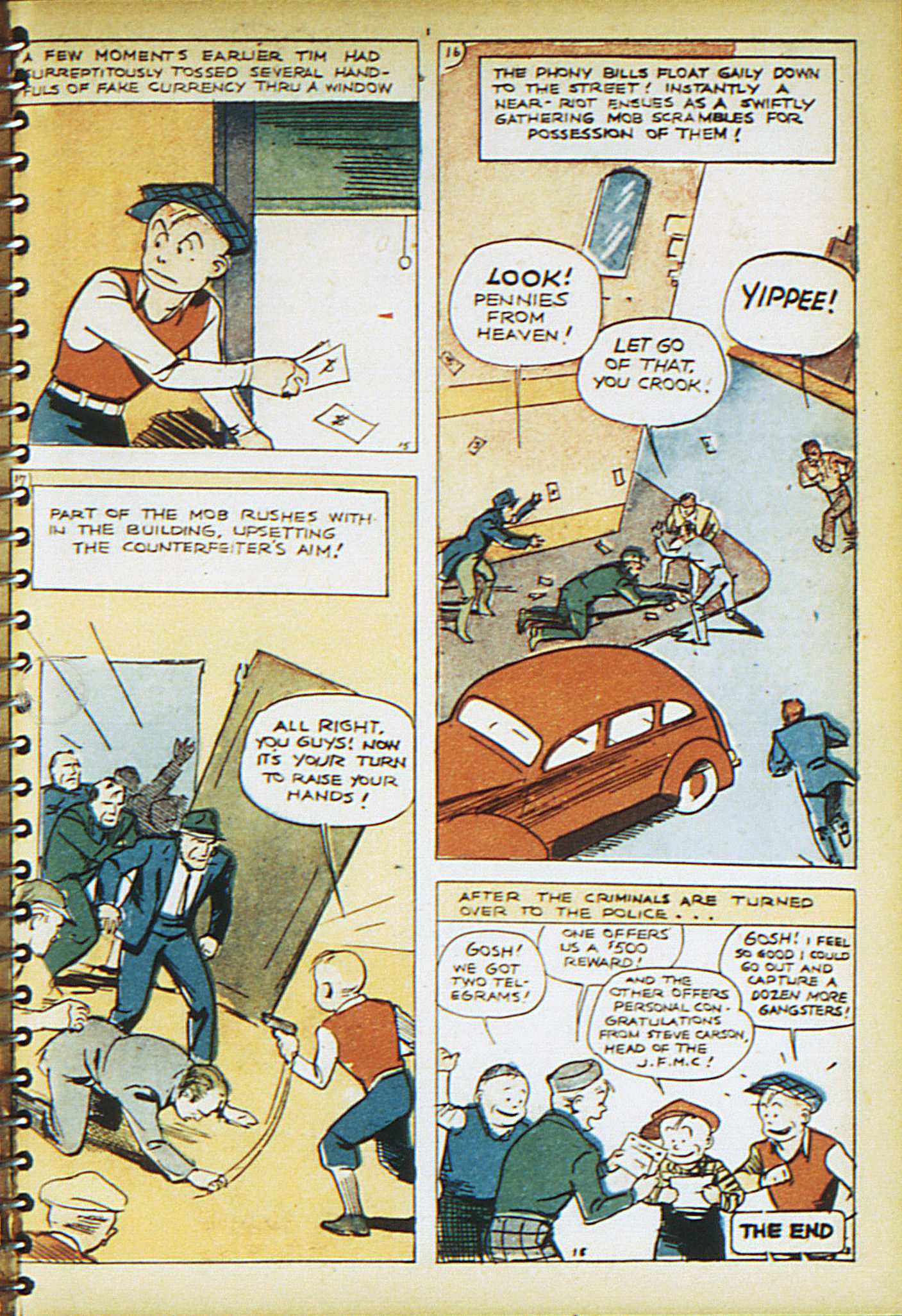 Read online Adventure Comics (1938) comic -  Issue #21 - 20