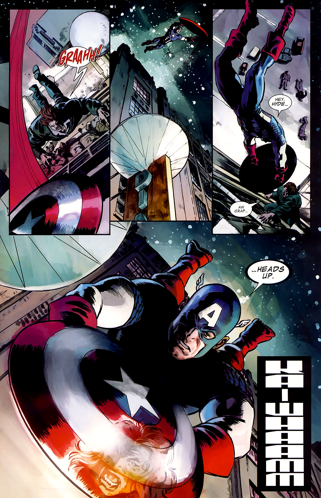 Read online Captain America Reborn: Who Will Wield the Shield? comic -  Issue # Full - 20