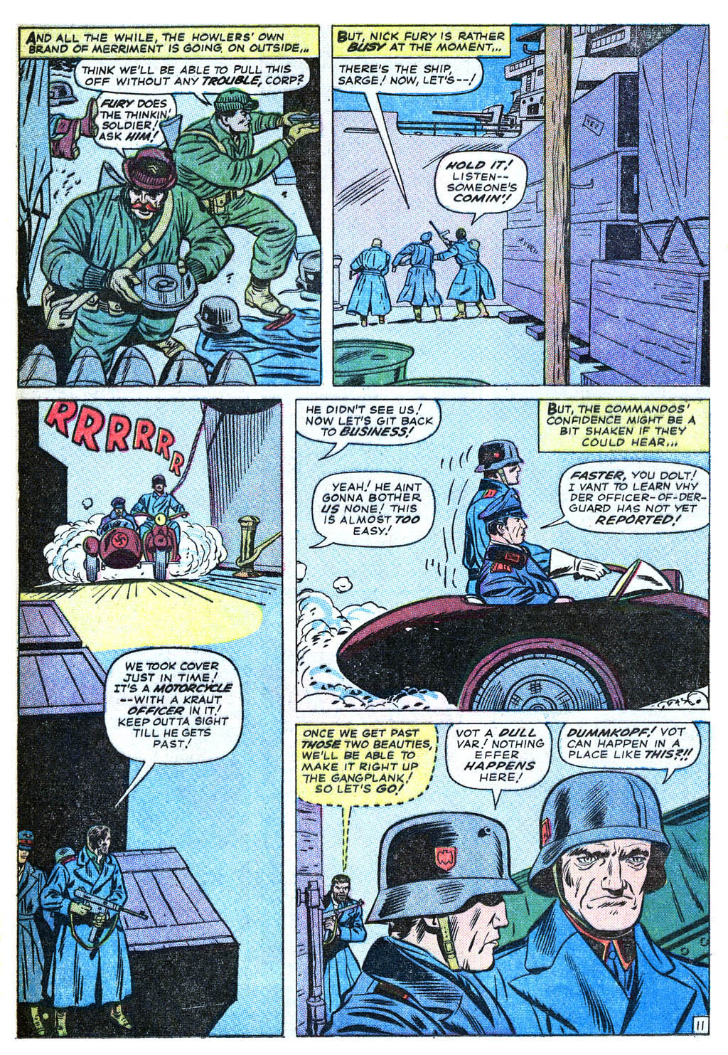 Read online Sgt. Fury comic -  Issue #18 - 16