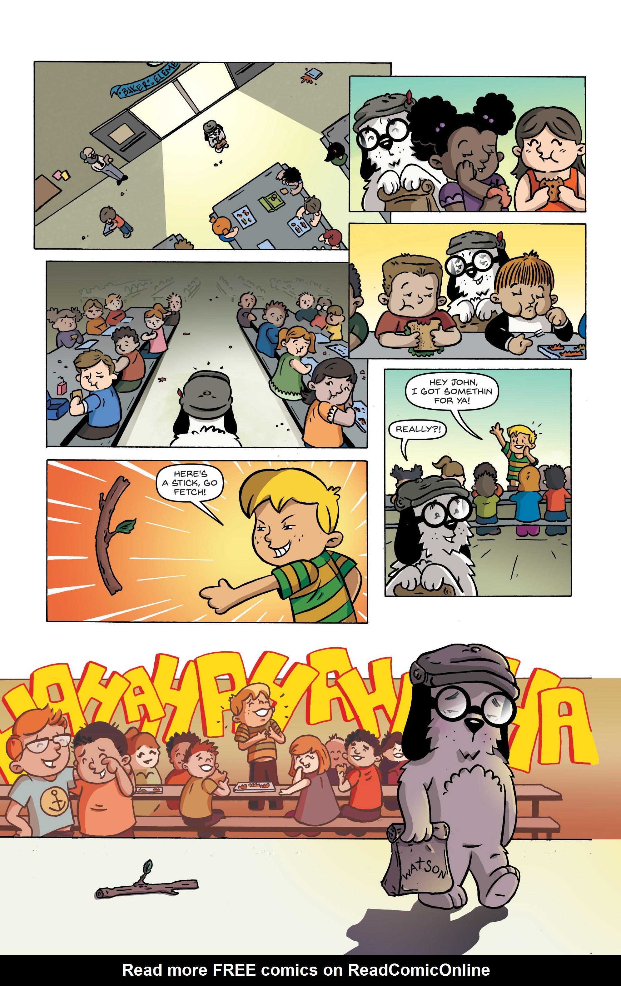 Read online Kid Sherlock comic -  Issue #1 - 8