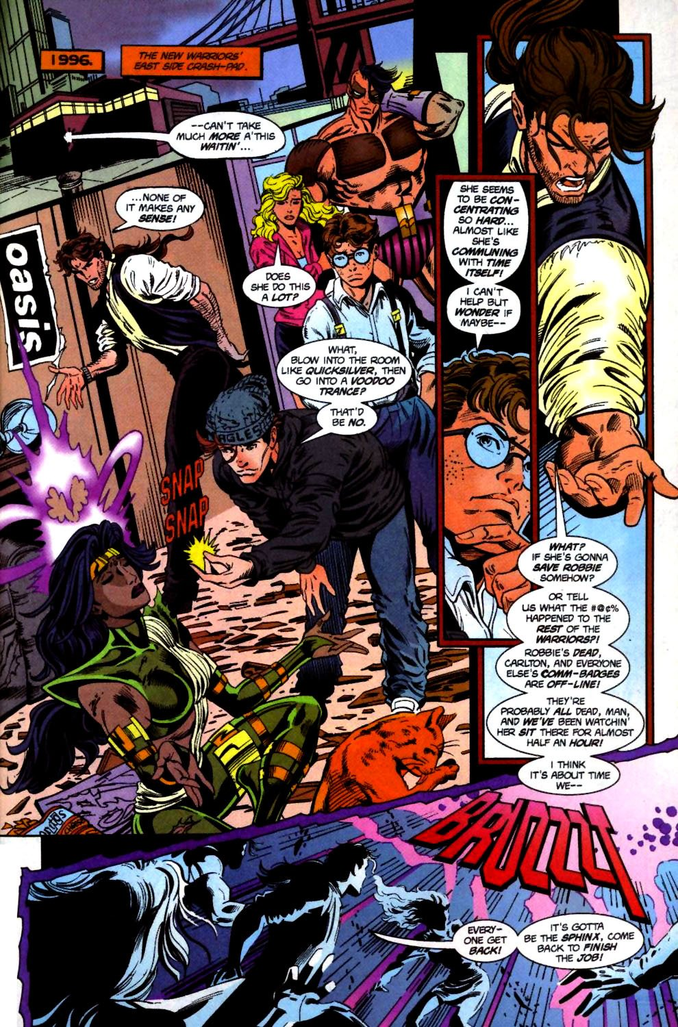 The New Warriors Issue #71 #75 - English 21