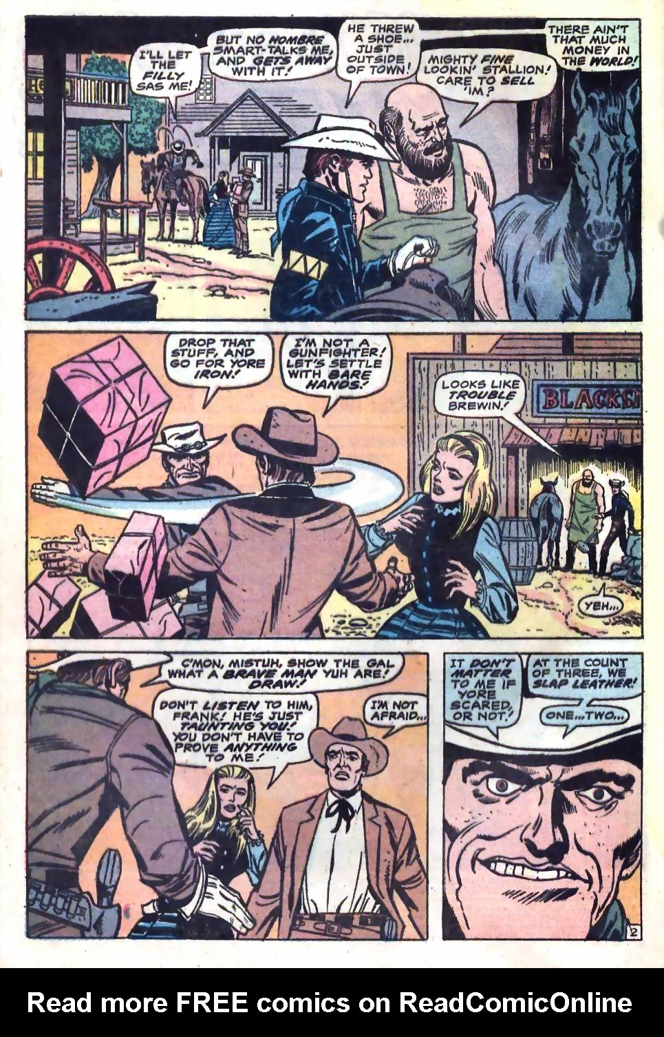 The Rawhide Kid (1955) issue 75 - Page 4