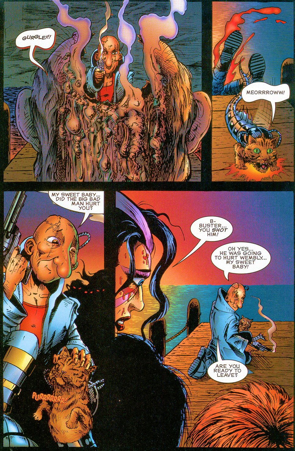 Read online Sisters of Mercy comic -  Issue #5 - 19
