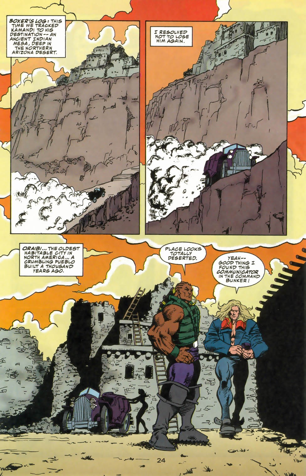Read online Kamandi: At Earth's End comic -  Issue #4 - 28